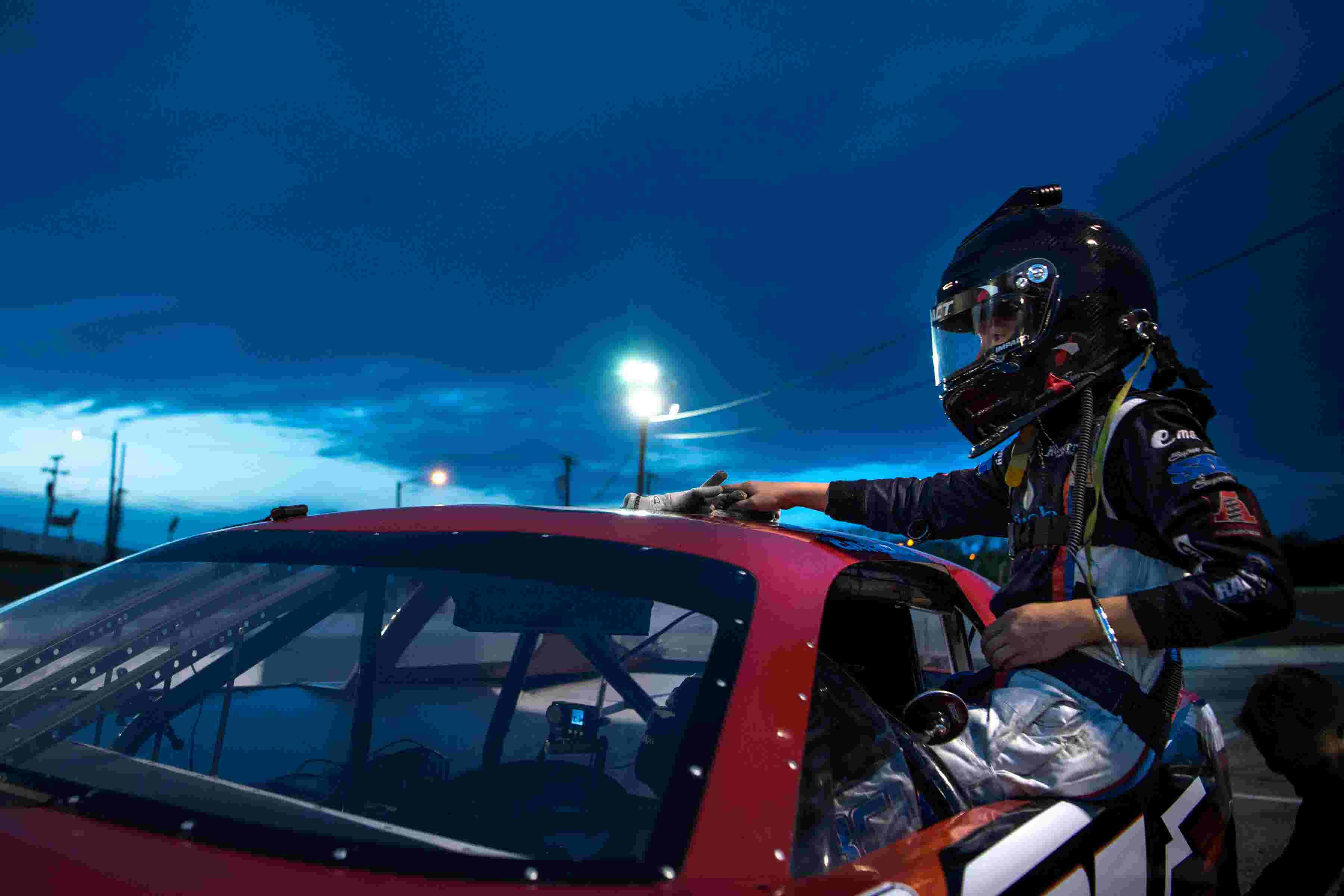A 78-pound 13-year-old will set Fairgrounds Speedway Nashville youngest driver record
