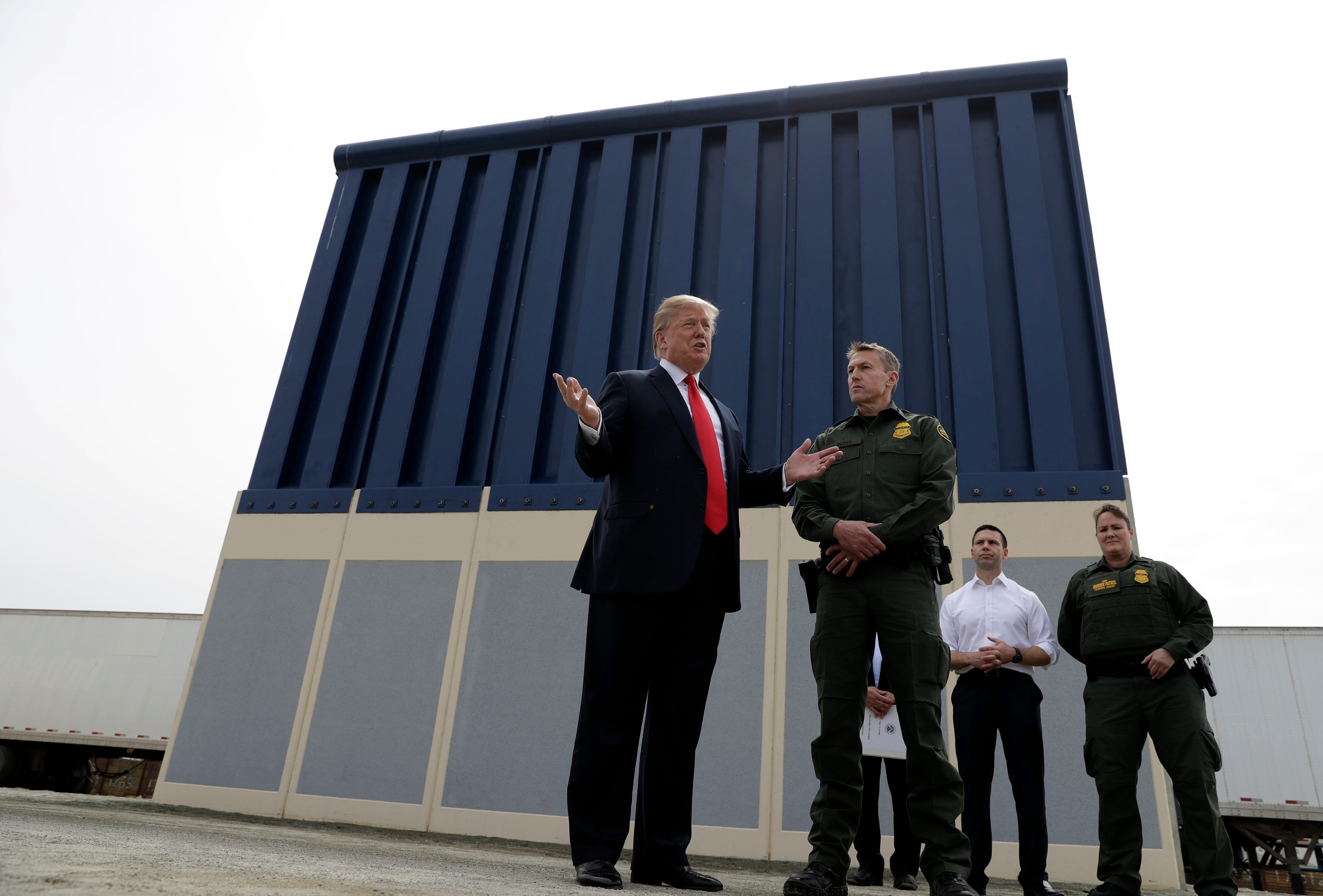 Is Trump's border wall being built? Here are the facts | El Paso Times