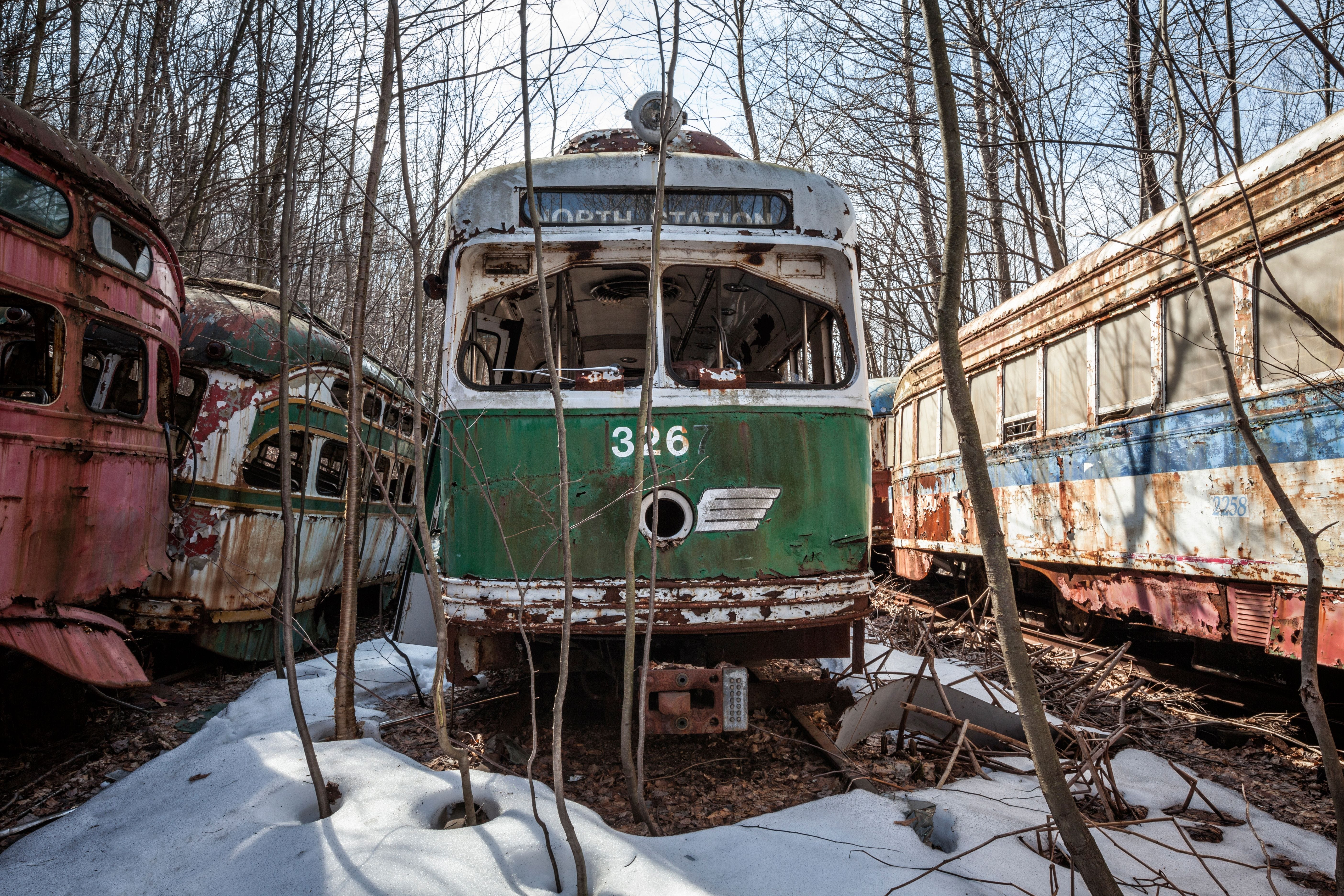 Abandoned America: Photos from the trolley graveyard