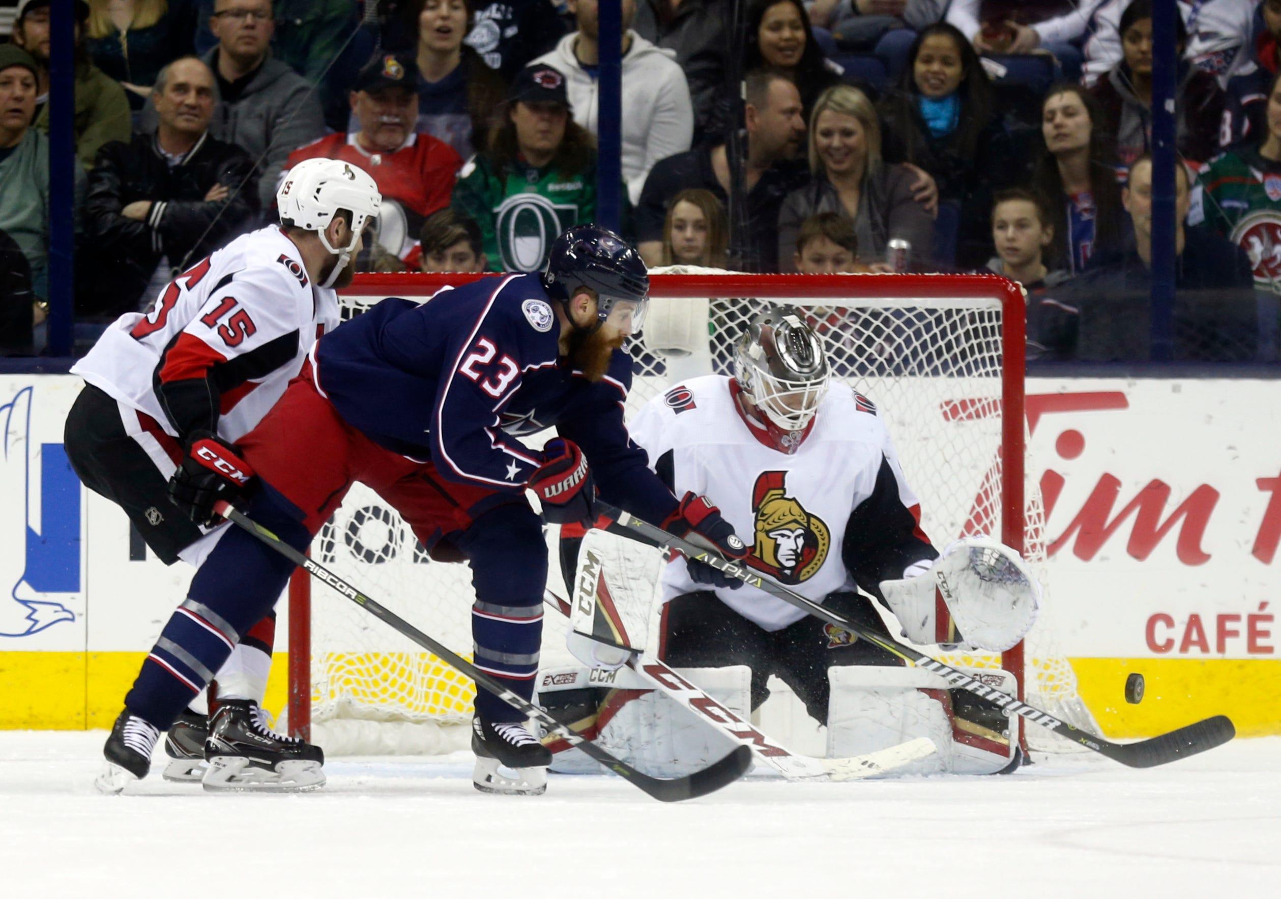 Nutivaara's second-period goal lifts Columbus past Ottawa