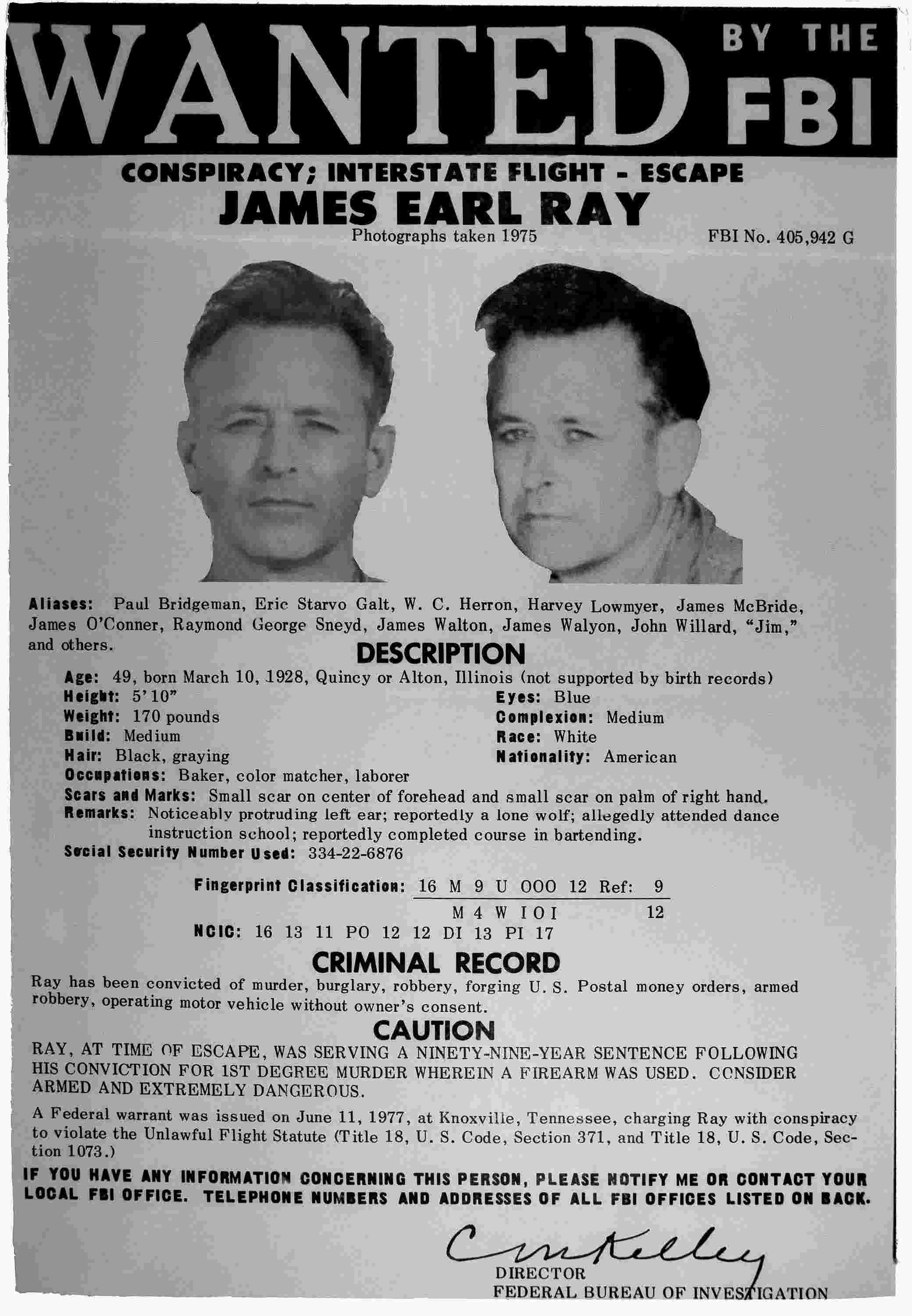 82340d3975298 Manhunt in the mountains  James Earl Ray and the Brushy Mountain Prison  breakout of 1977