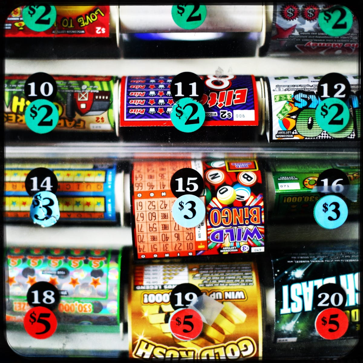 Wisconsin Lottery: Some people repeatedly win, but do they