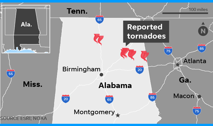 Severe weather spawns tornadoes, damage homes in Southeast US on georgia rain map, georgia athens map, georgia regions map printable, georgia water map, united states wildfire map, georgia tornadoes, georgia militia, georgia state map, georgia hurricane map, georgia seismic map, georgia flooding map, georgia drought map, georgia piedmont map, georgia temperature map, georgia evacuation map, georgia liberty map, georgia storm soccer, glynn county georgia map, georgia plantations map, georgia topo map,