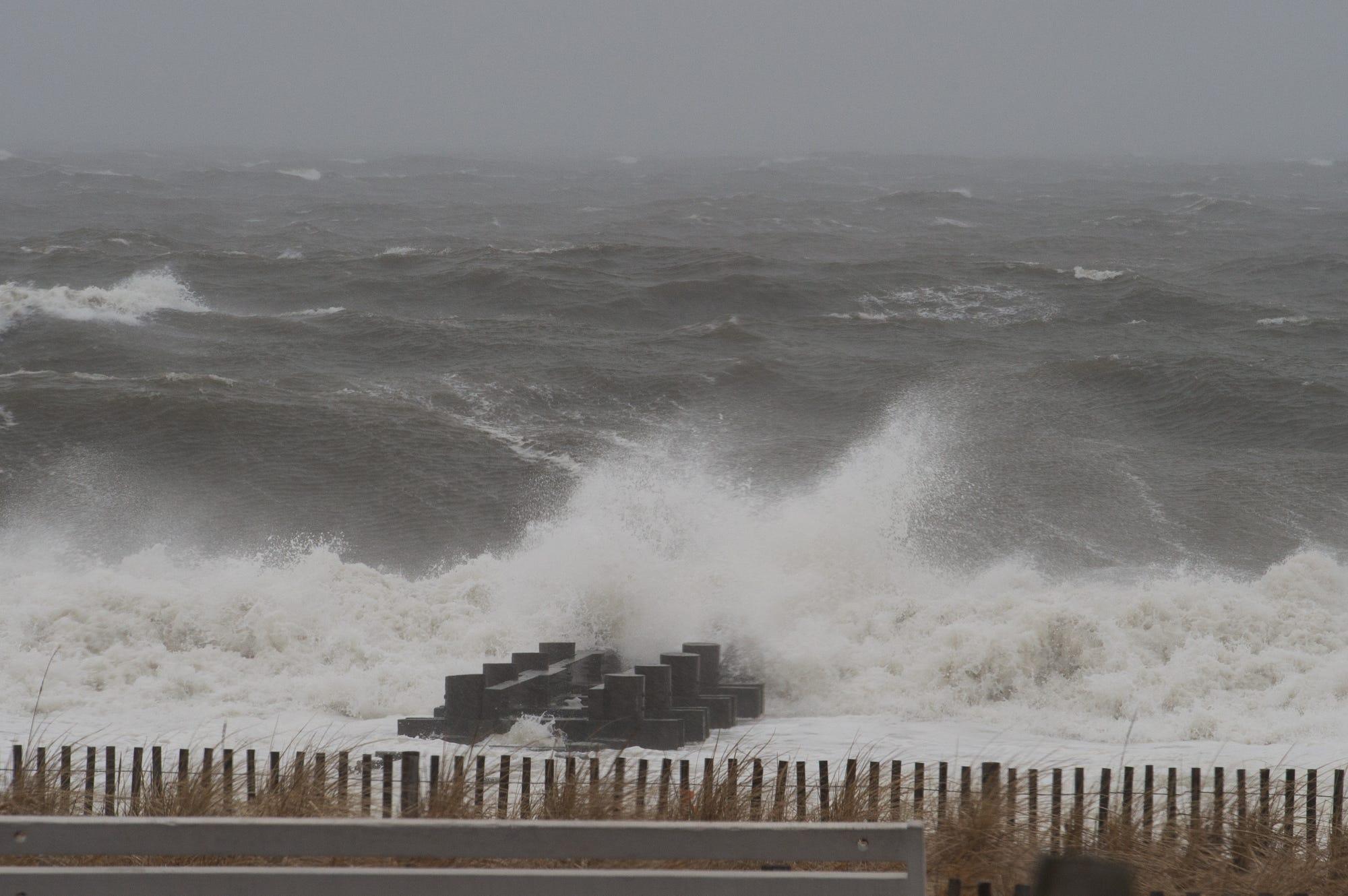Coastal Delaware S Sunny Stormy Foggy Hot