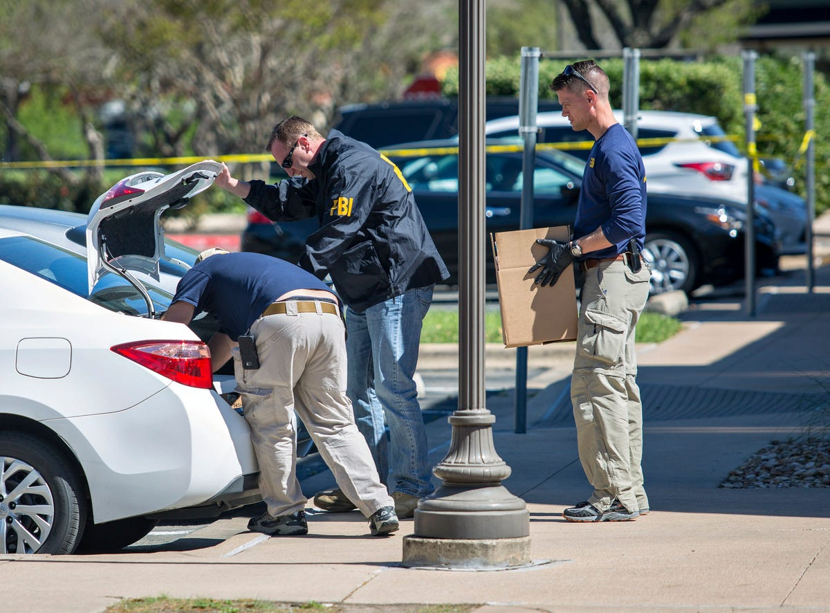 Austin bombings: Cache of homemade explosives found in