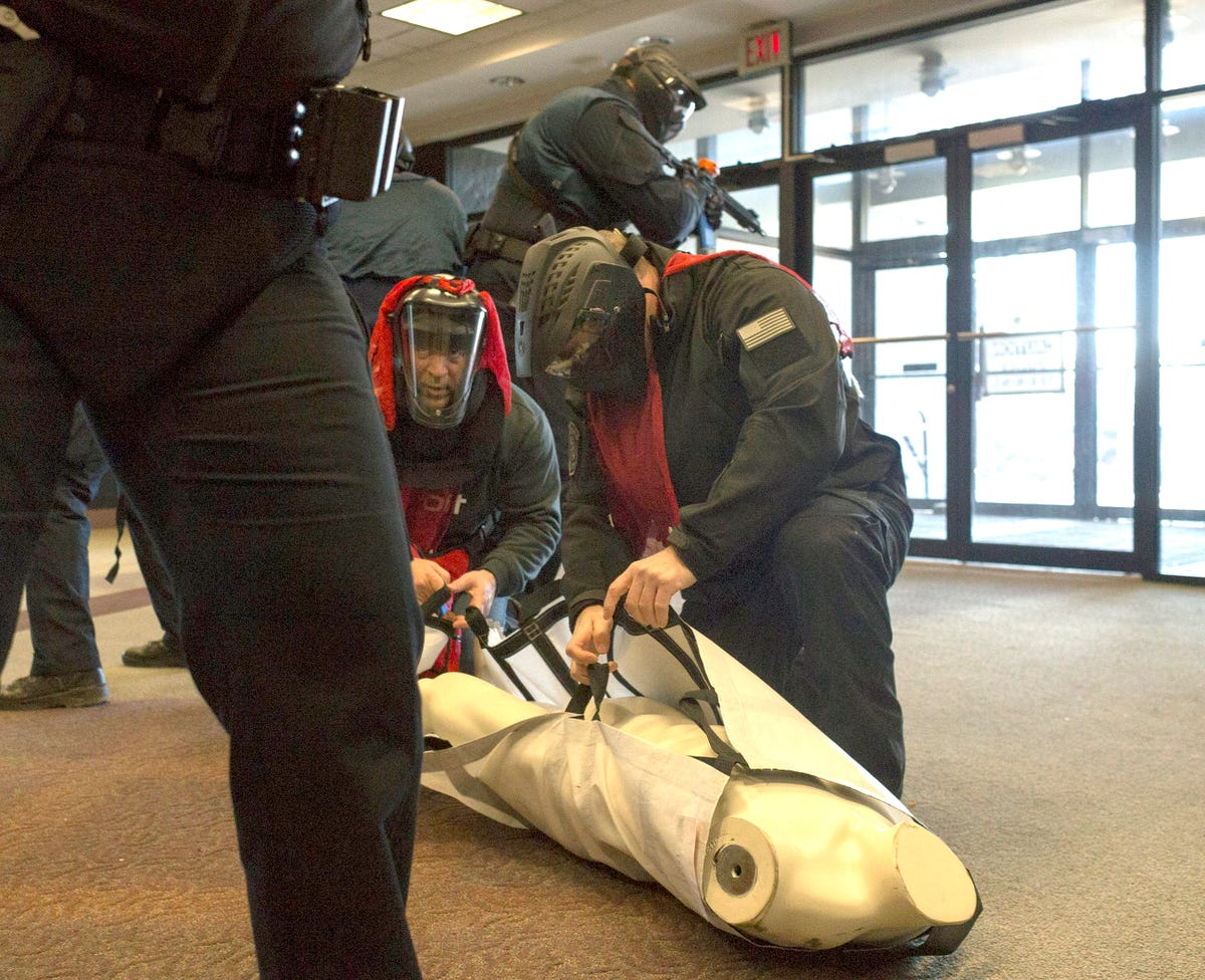 Oakland County police train to take out active shooters