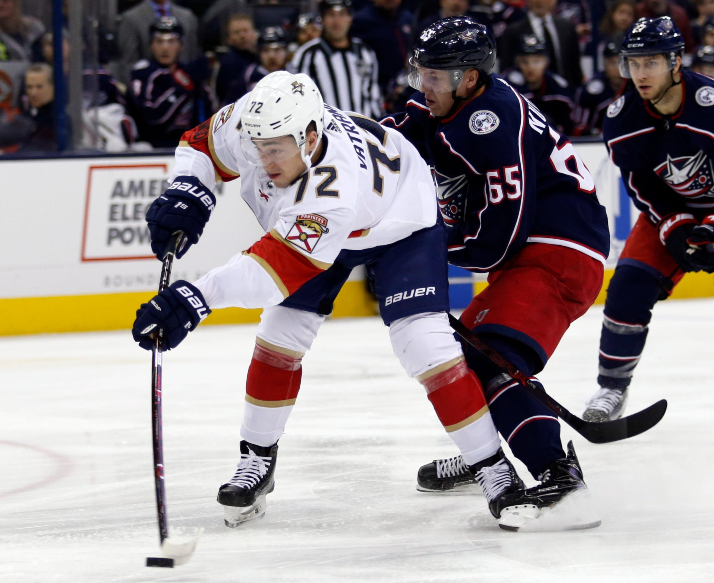 Blue Jackets shut out Panthers 4-0 for 10th straight win
