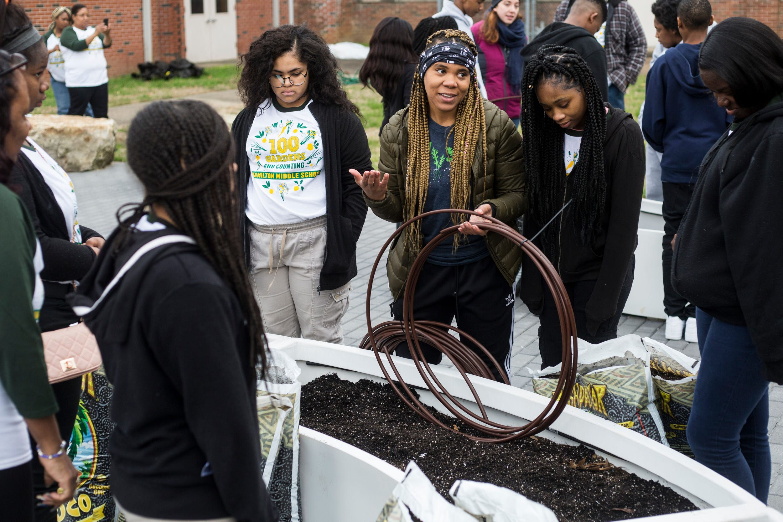 Big Green hits 100th learning garden milestone | The Commercial Appeal