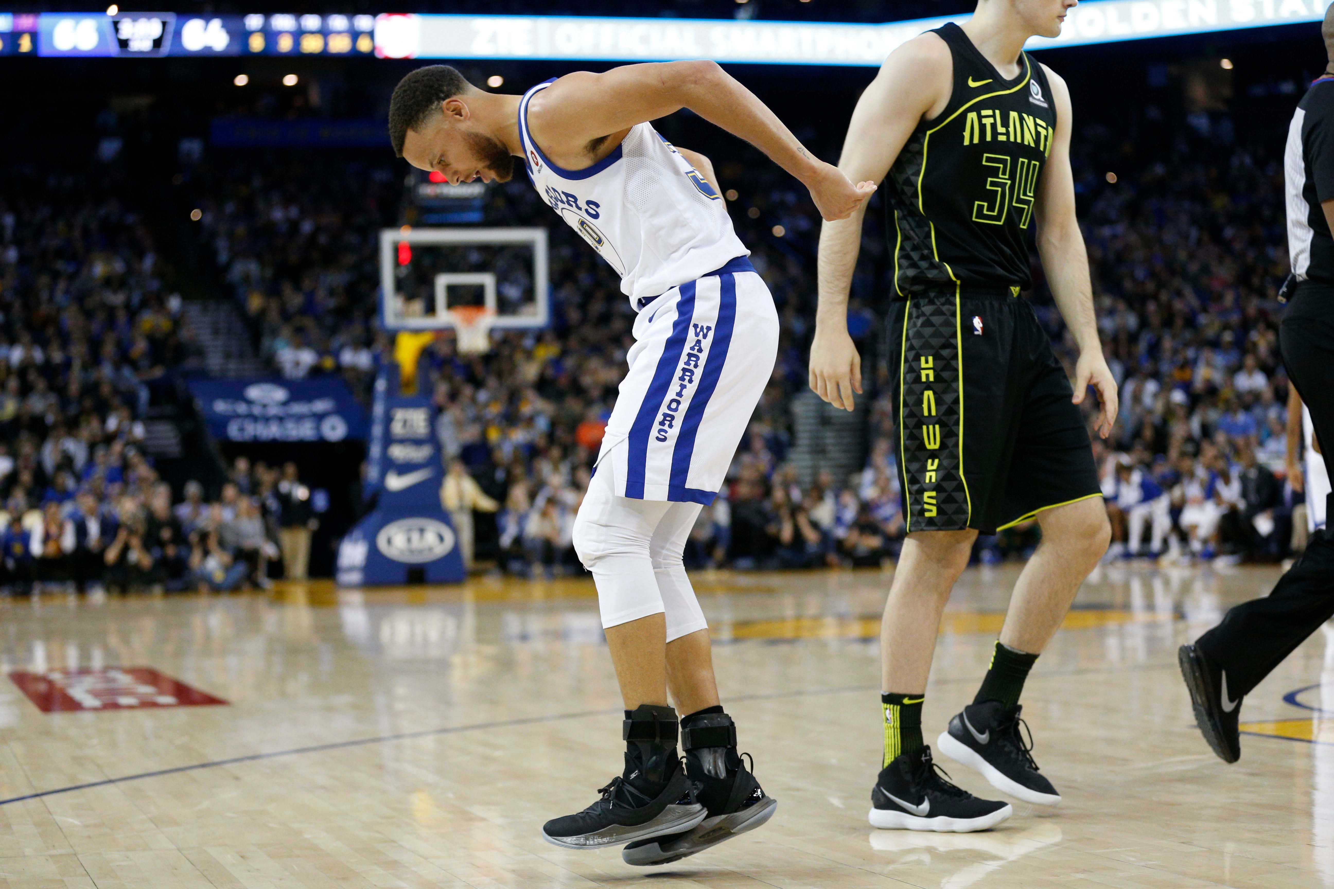 Warriors' Steph Curry suffers Grade 2 MCL sprain, will be re-evaluated in 3 weeks