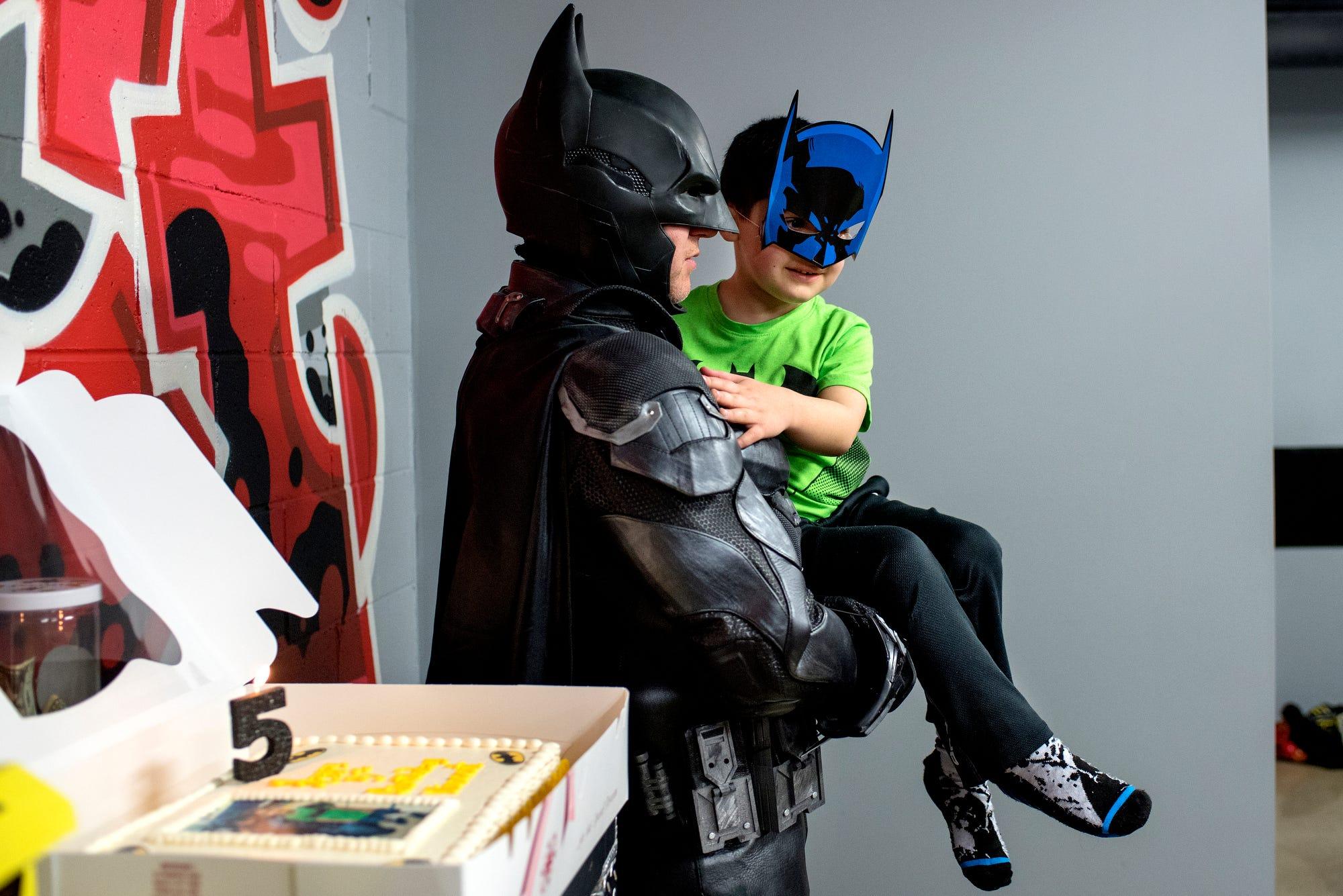 Forgiving himself was this superhero's toughest fight | Burlington Free Press