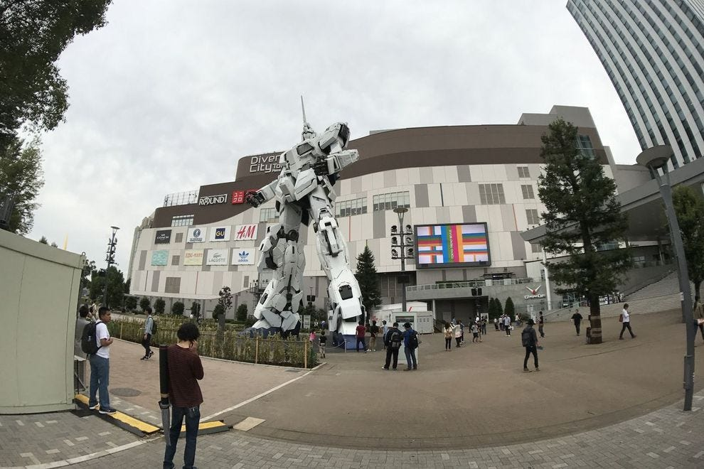 You need to see this giant unicorn robot in Japan