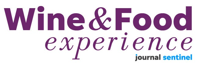 food and wine experience logo