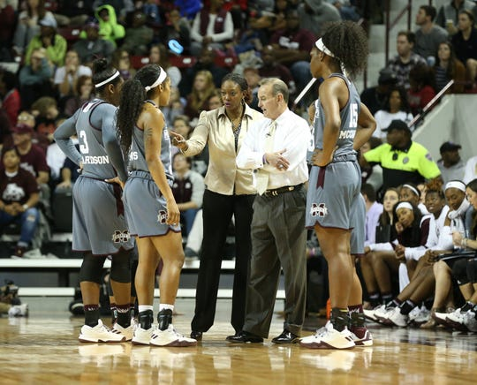 Johnnie Harris and Vic Schaefer worked together for eight seasons at Mississippi State.