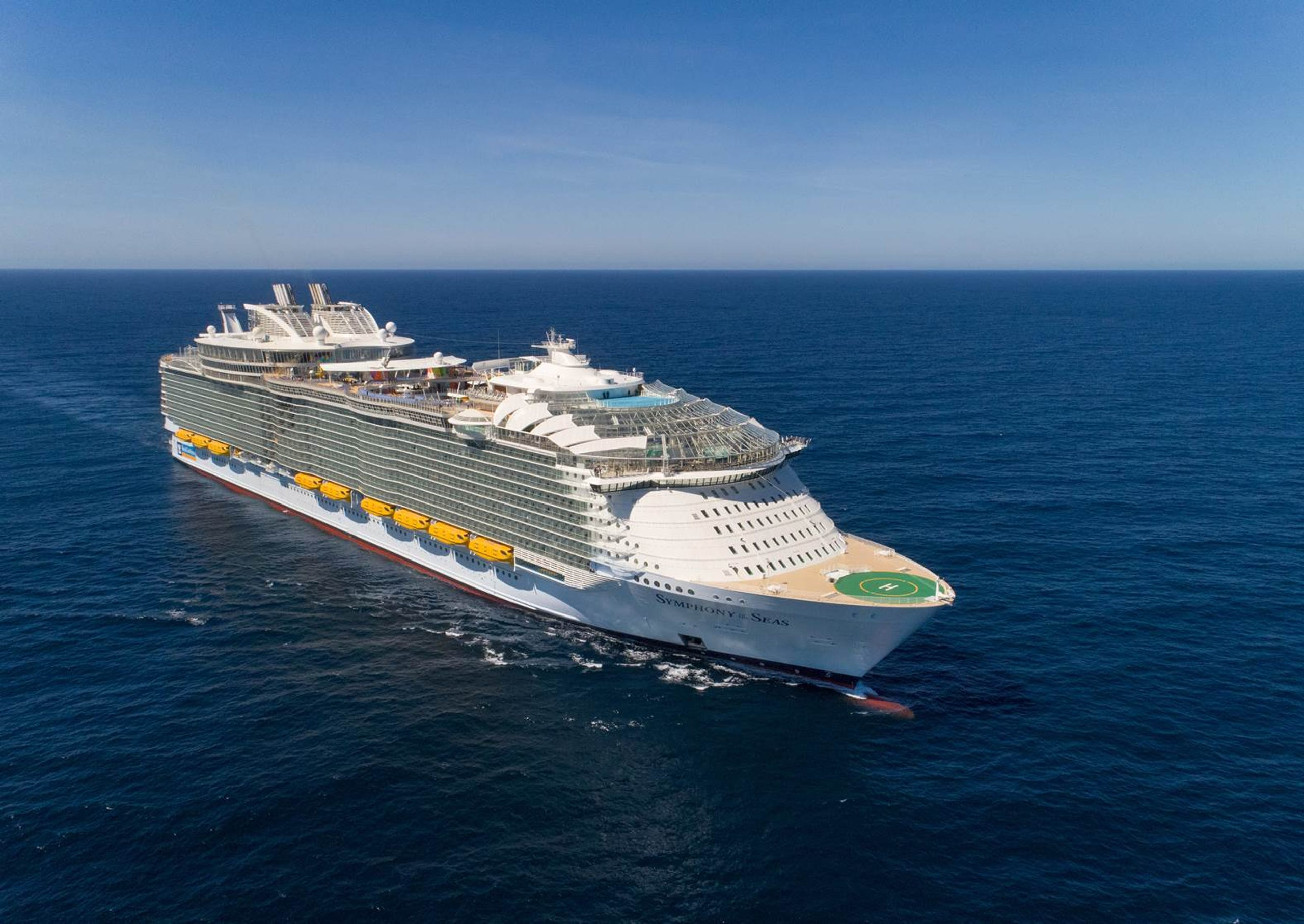 First look: Inside Symphony of the Seas, world's biggest cruise ship