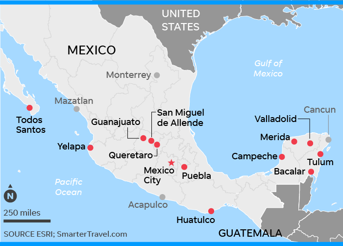 Mexico The Safest Places For Travelers