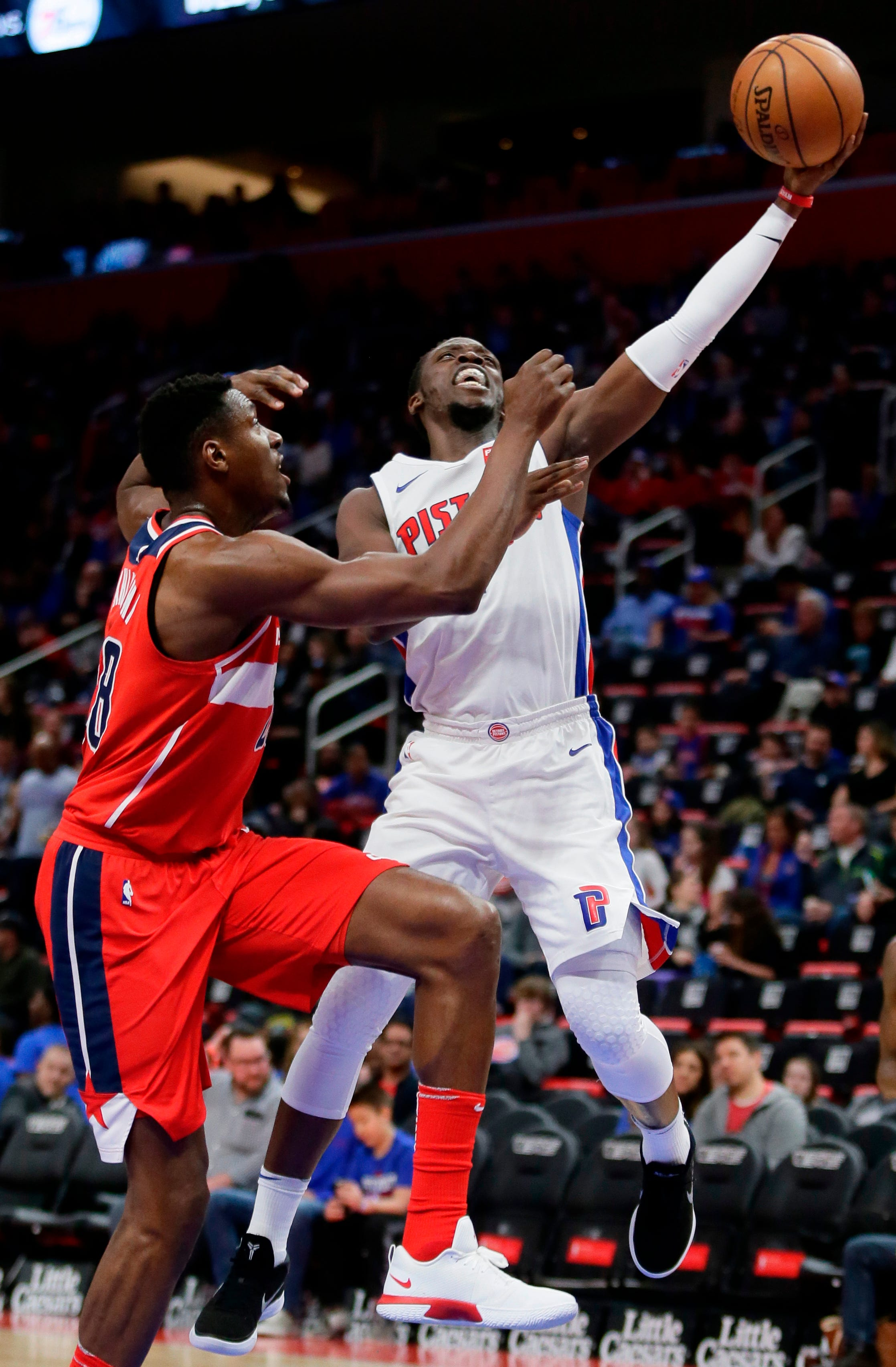 Drummond s 20-20 game leads Pistons past Wizards