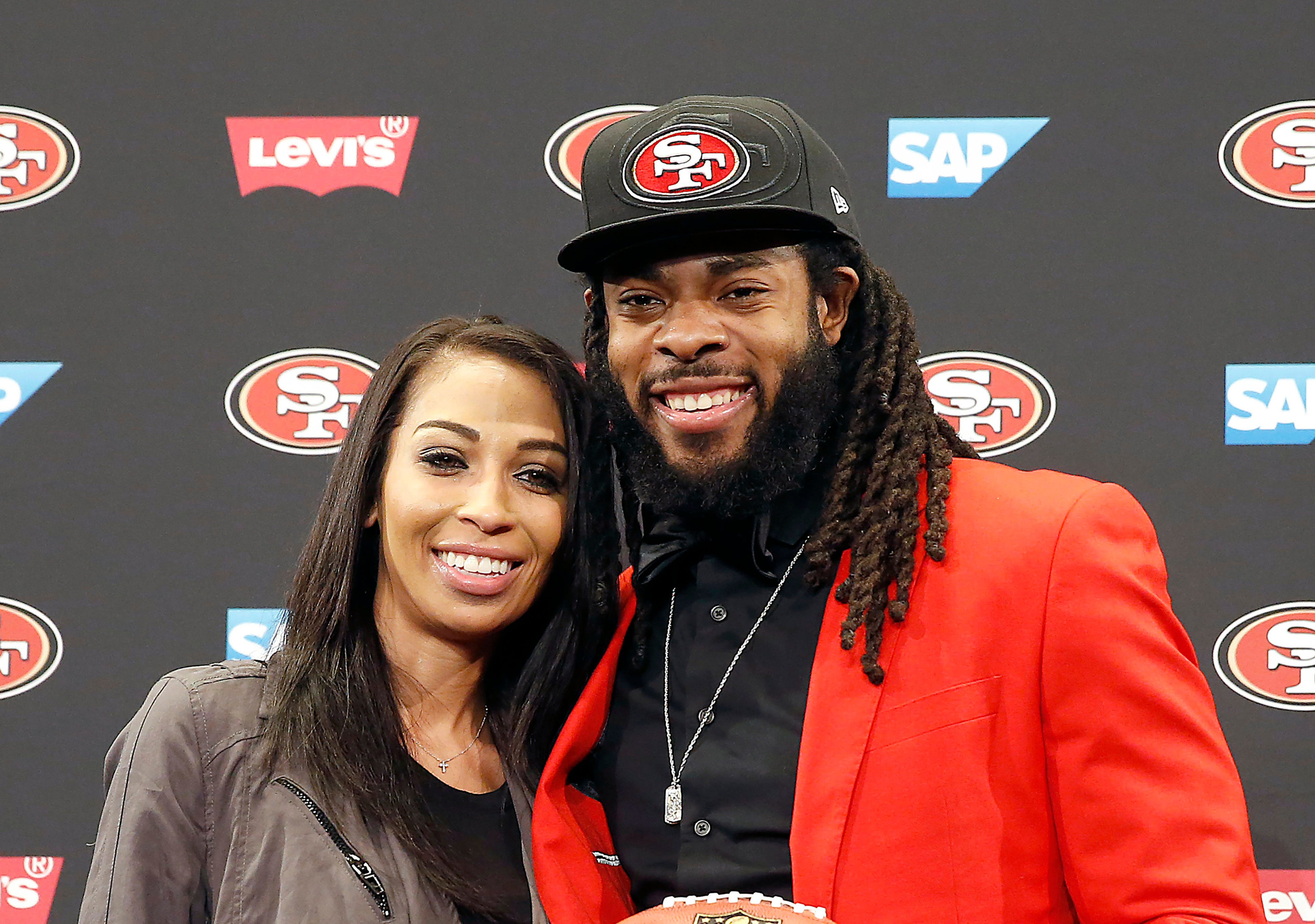 See beautiful photos and video from Richard Sherman's wedding