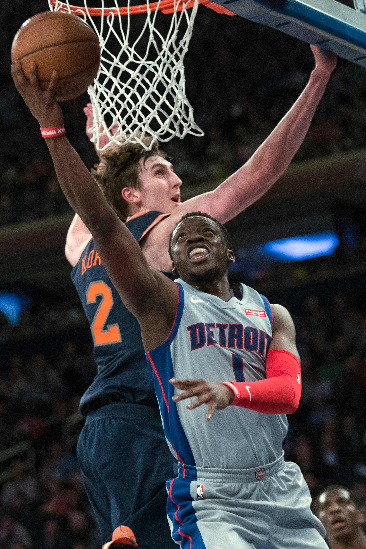 Drummond has another big night, Pistons beat Knicks 115-109