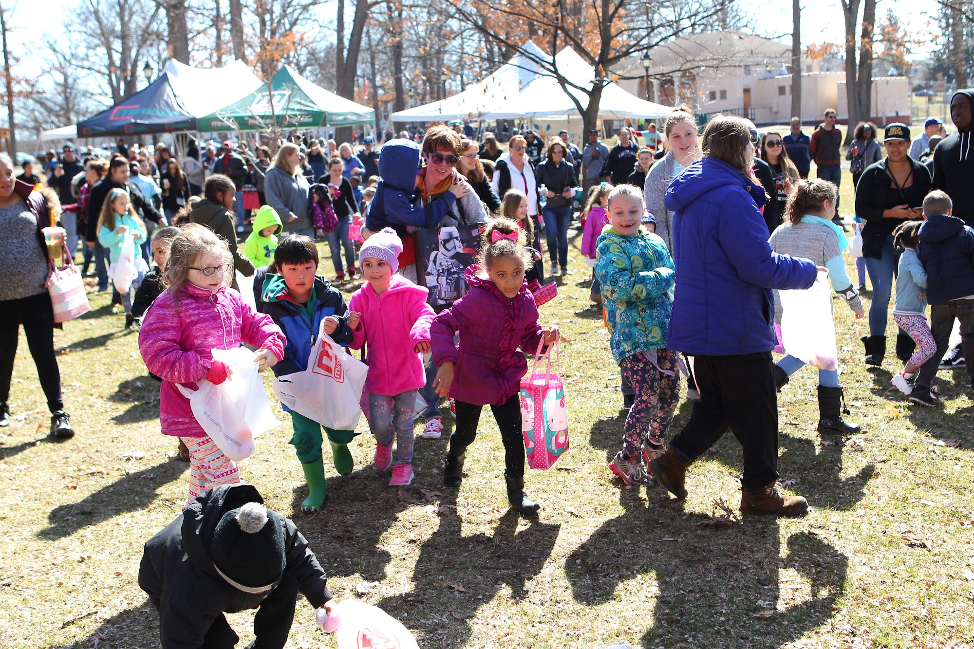 Find the nearest Easter egg hunts and related events in the Binghamton region this week