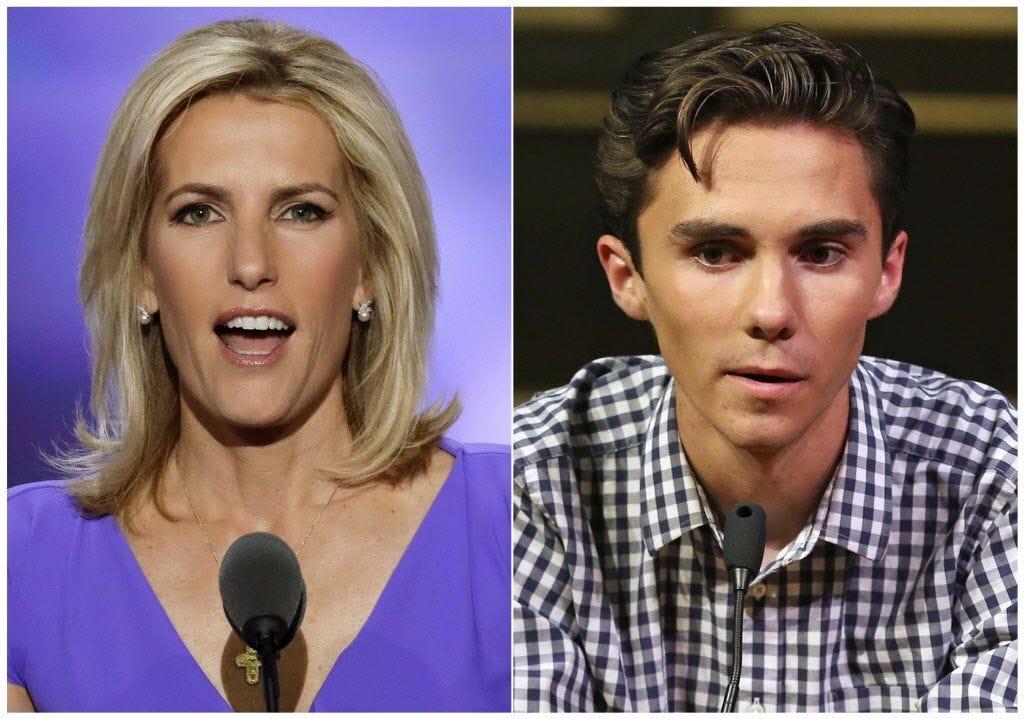 David Hogg calls for another boycott of Fox News' Laura Ingraham | Burlington Free Press