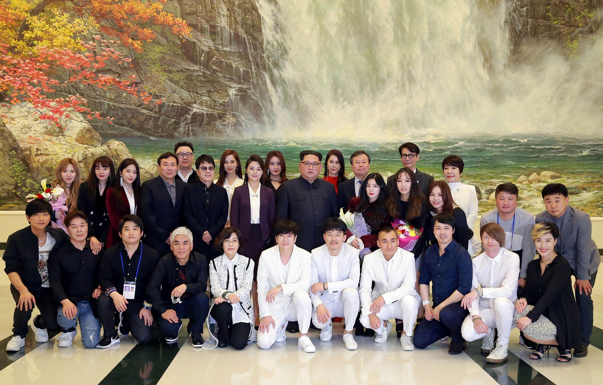 Kim Jong Un likes K-pop music,