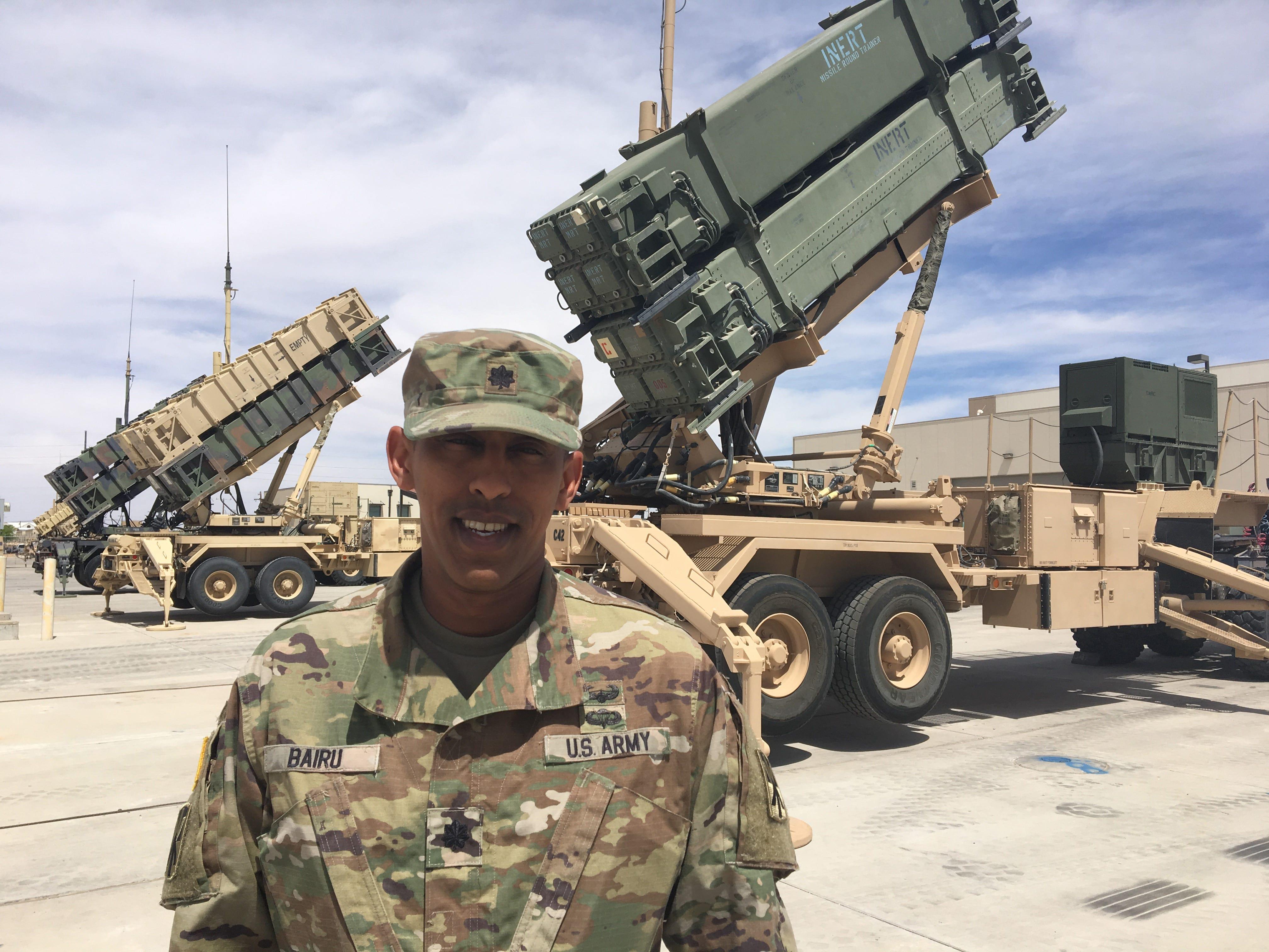 Lt. Col. Haileyesus Bairu 'on cloud nine' about serving as Legion commander at Fort Bliss   El Paso Times