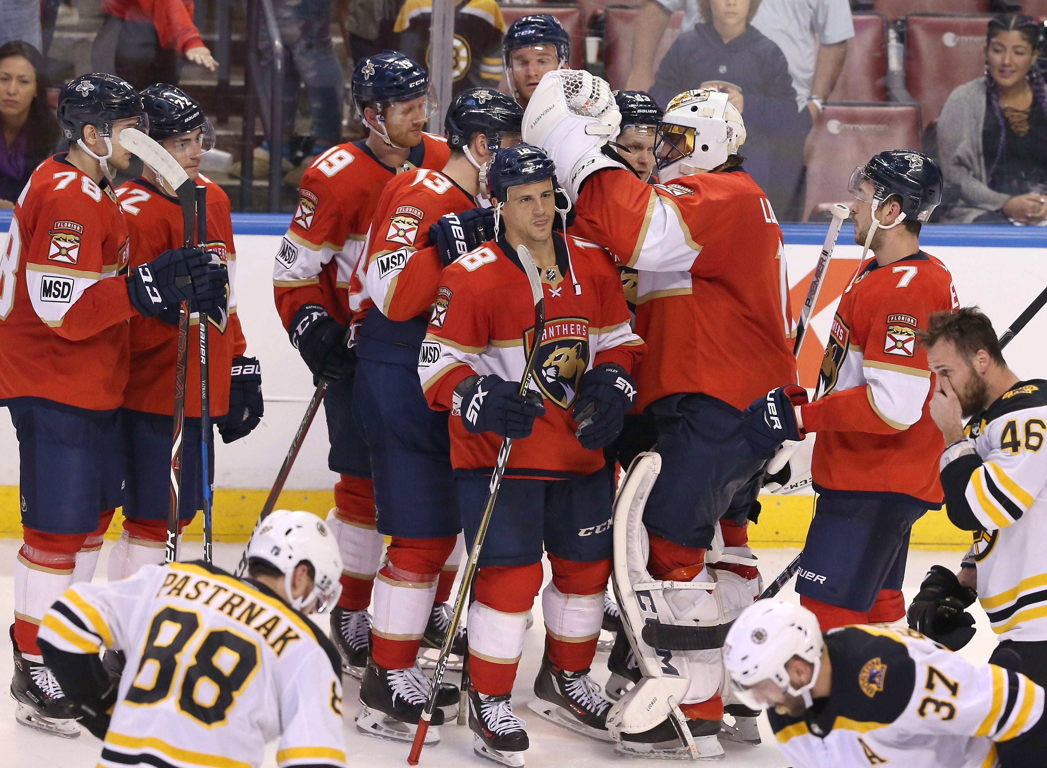 Panthers stay alive in Roberto Luongo's 1,000th career game