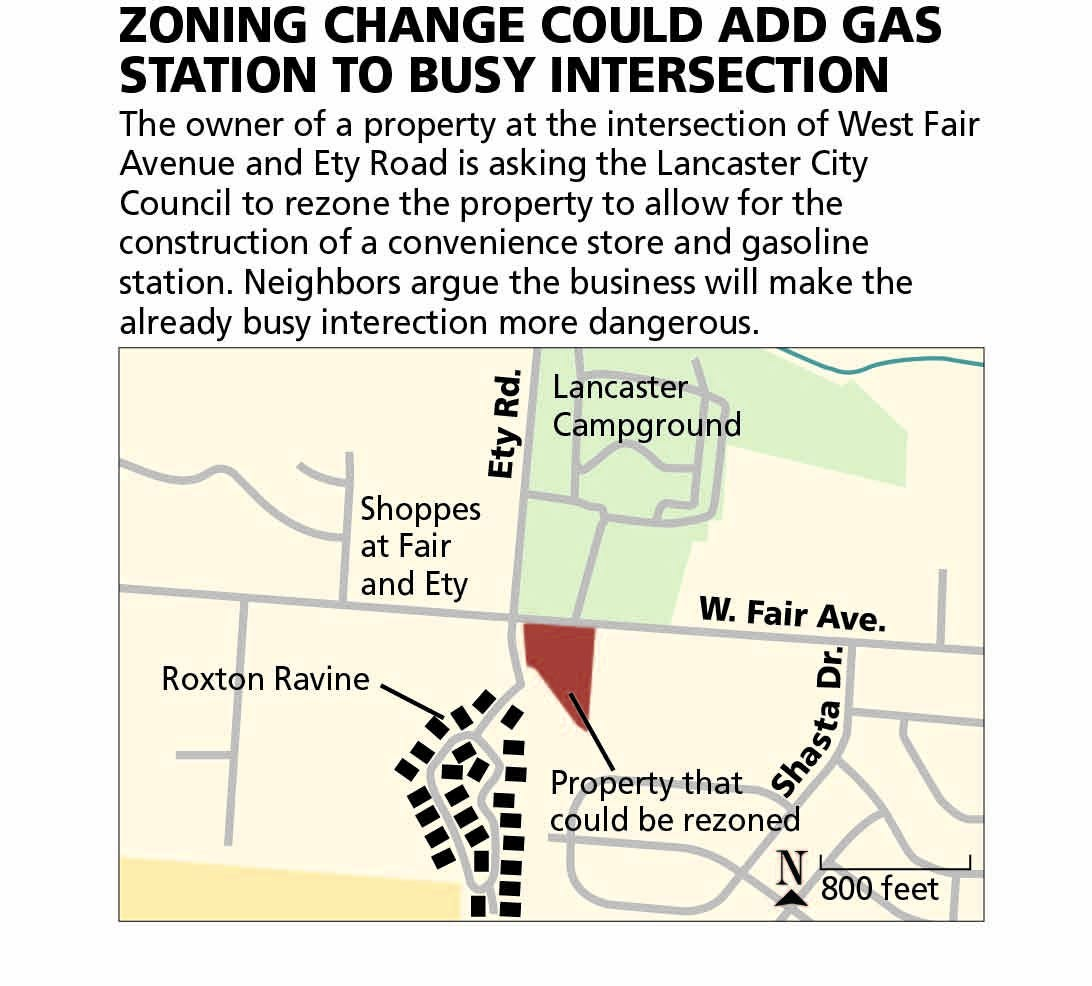Gas station plans opposed by Roxton Ravine, campground residents