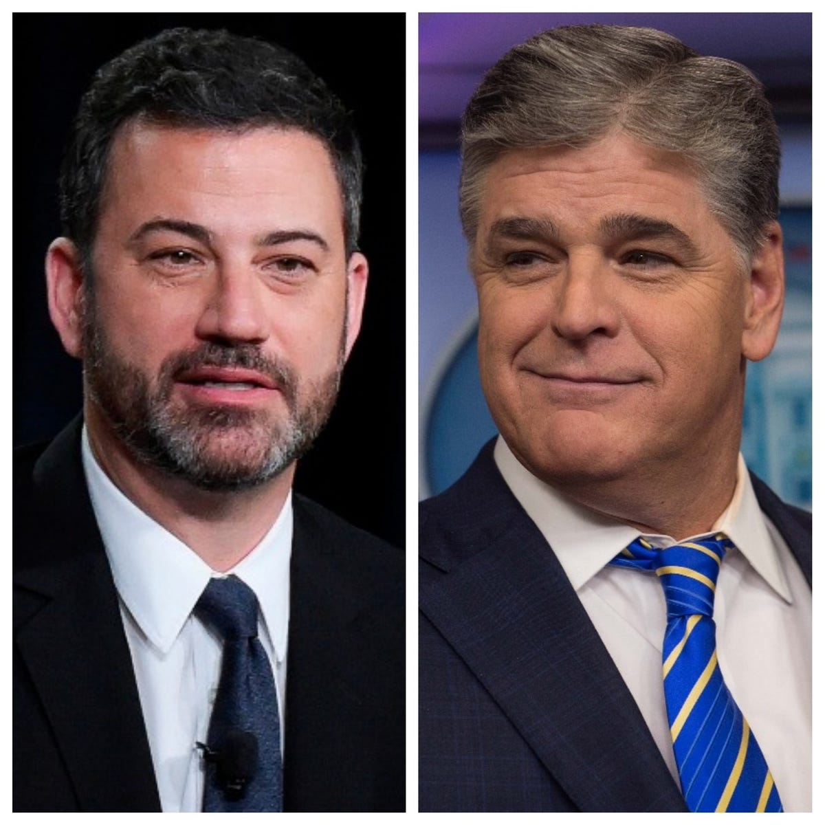 Jimmy Kimmel ends feud with Sean Hannity, apologizes for
