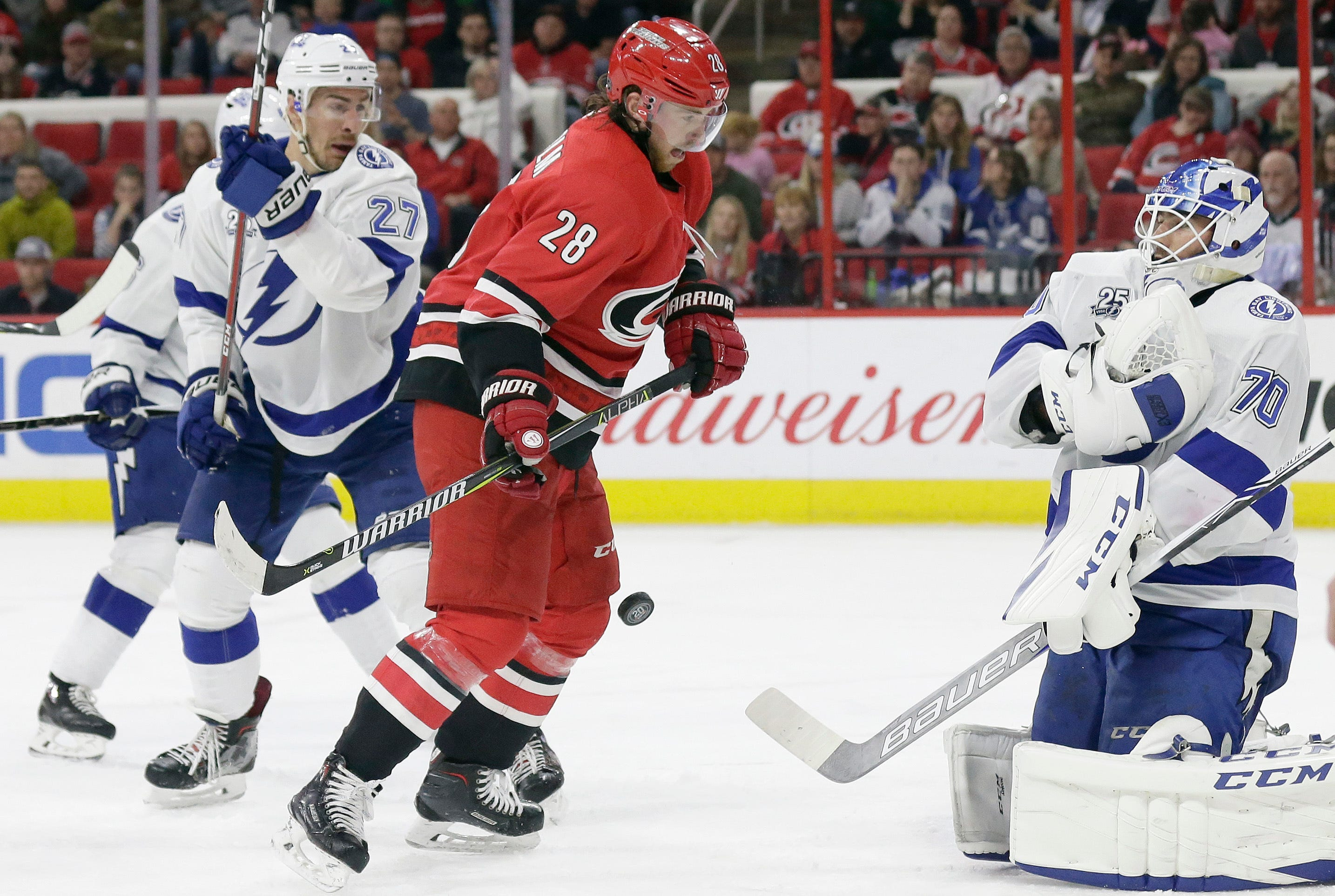 Hurricanes limp into 9th straight offseason with no playoffs