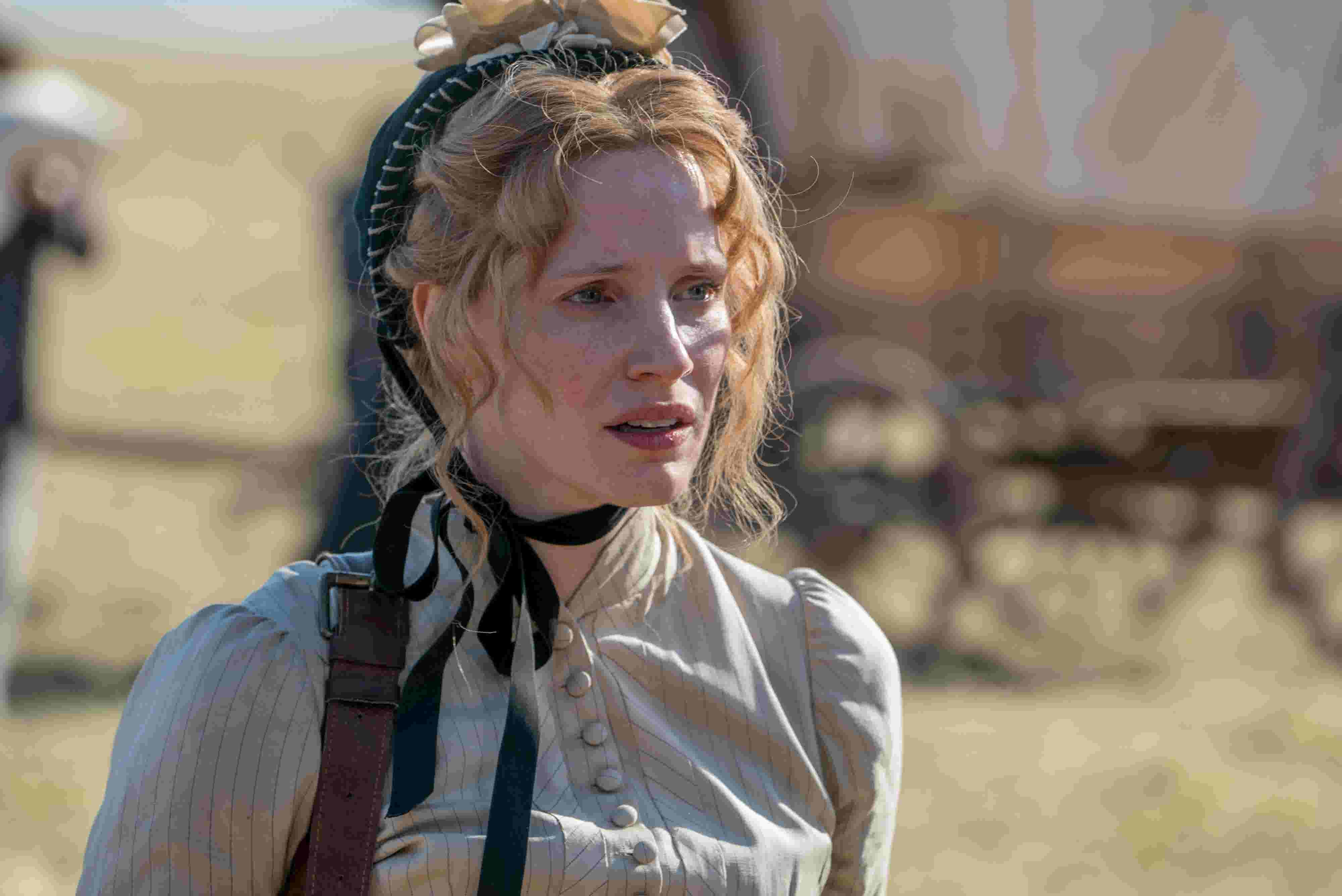 Exclusive Clip Jessica Chastain Meets Sitting Bull In Woman Walks