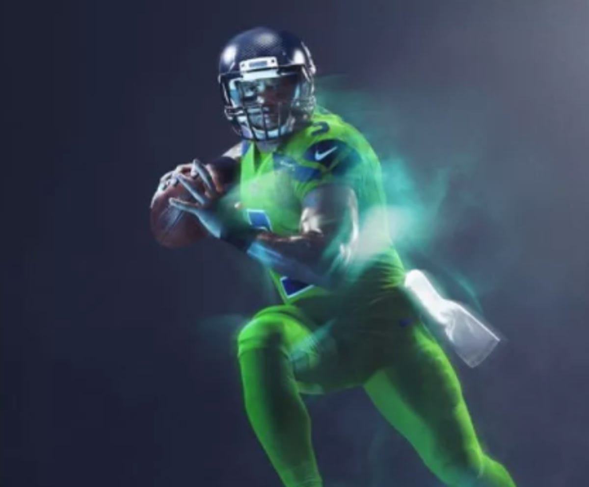 differently 229f4 3944f NFL Color Rush uniforms: Thursday Night Football jerseys on ...