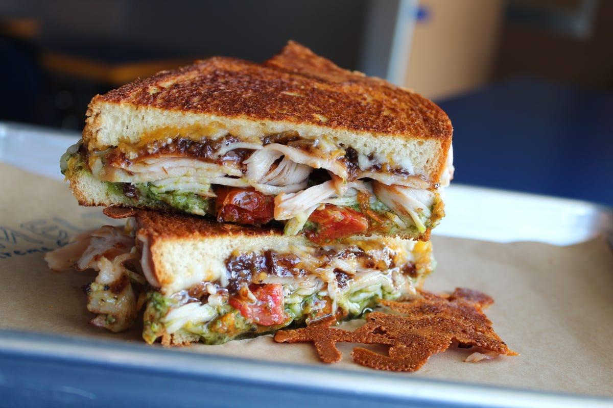 50 states: 50 grilled cheese sandwiches