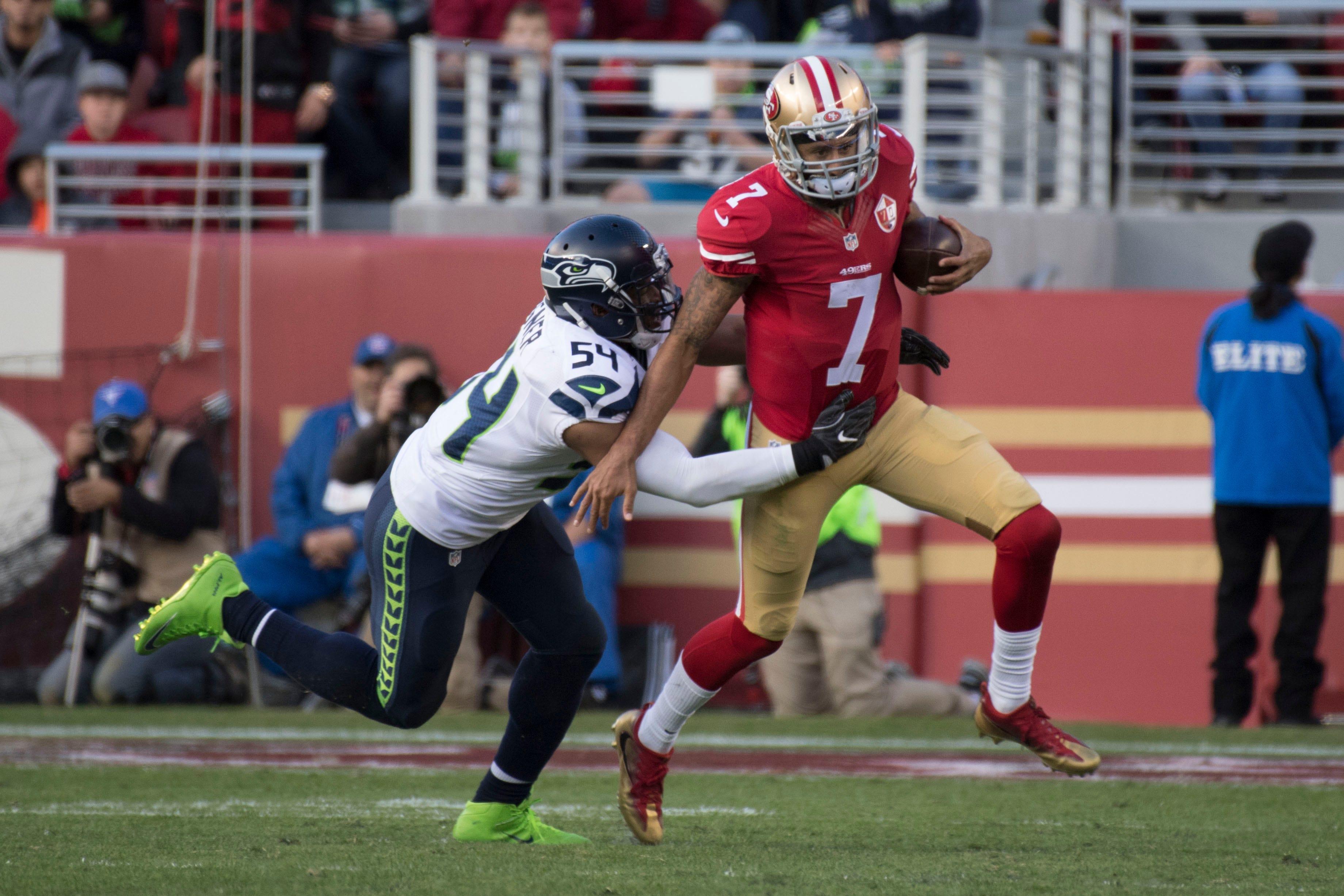 Seahawks postpone Colin Kaepernick visit after QB declined to say he'd stop kneeling