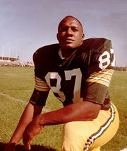 Green Bay Packer standout Willie Davis is pictured in 1965.