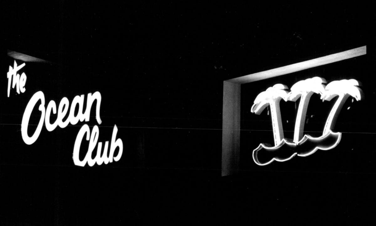 Whatever Happened to     the Ocean Club?