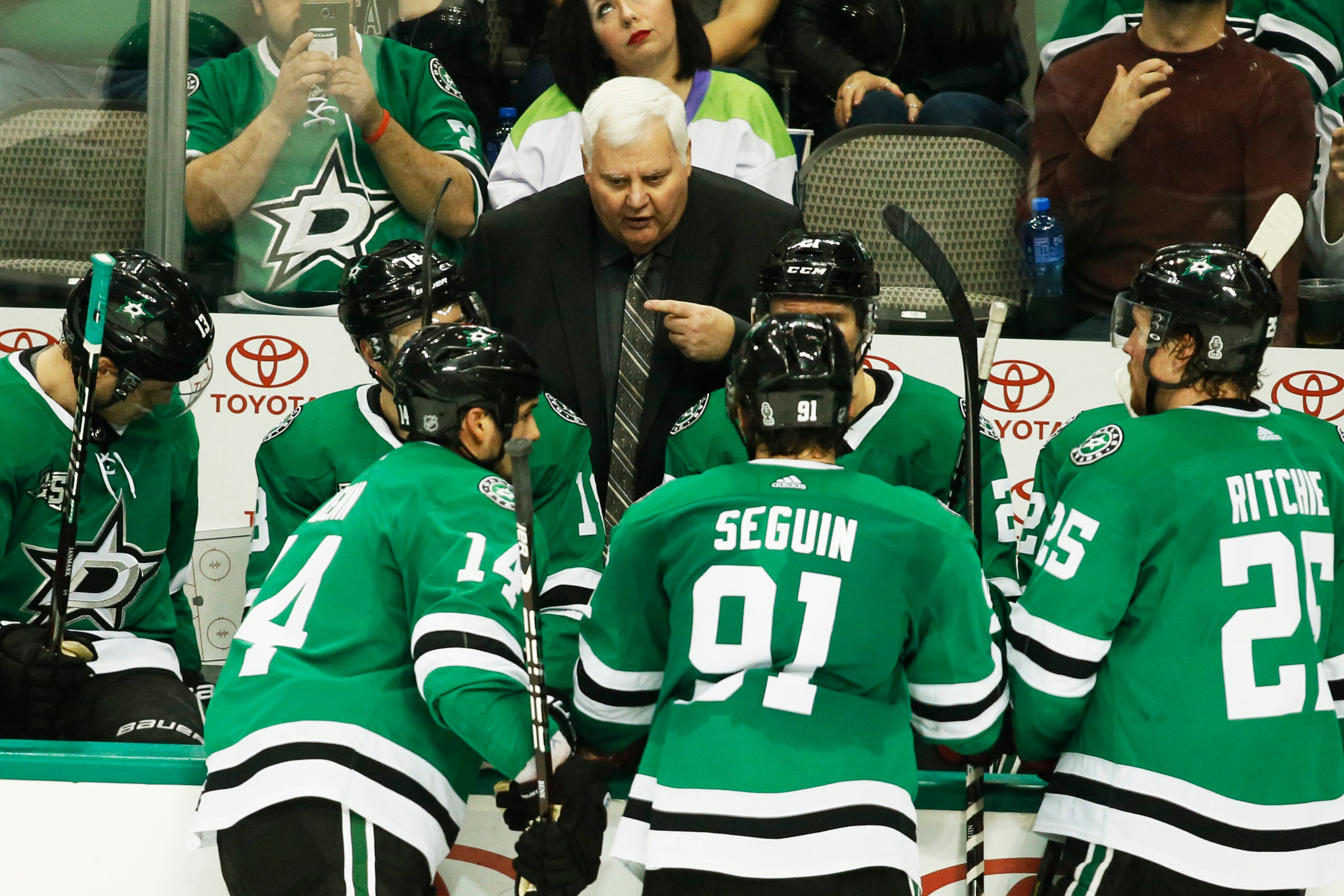 The NHL lost a little bit of personality with Ken Hitchcock's retirement as Dallas Stars coach