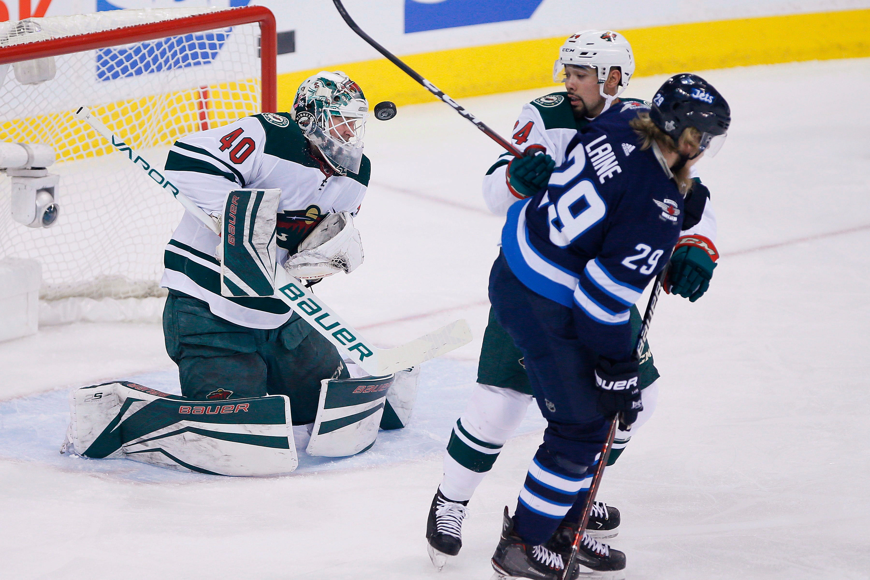 Jets beat Wild 4-1 to take 2-0 series lead