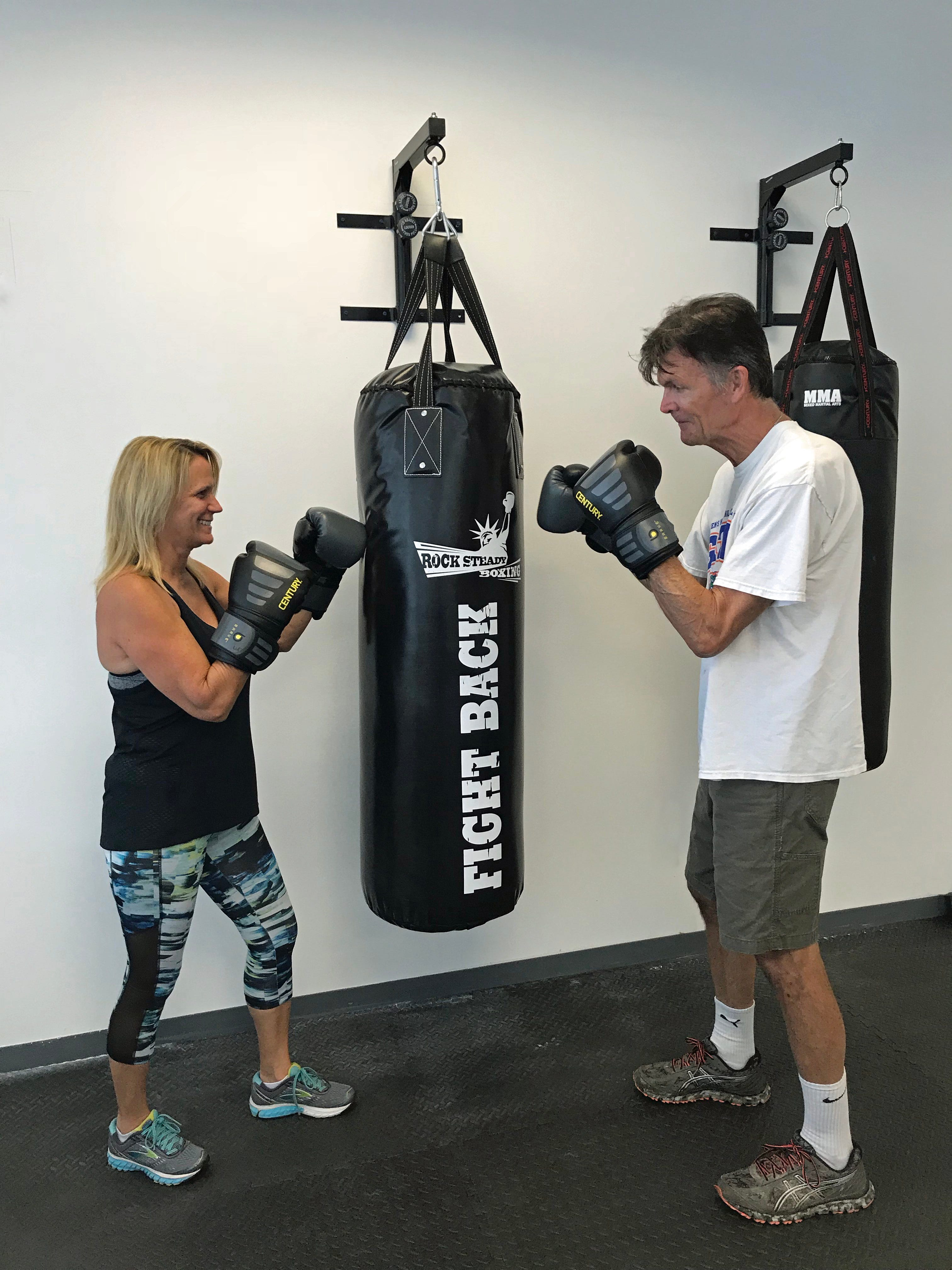 636592891782769522-Janice-Moia-Rock-Steady-Boxing-trainer Program gives Parkinson's patients a fighting chance