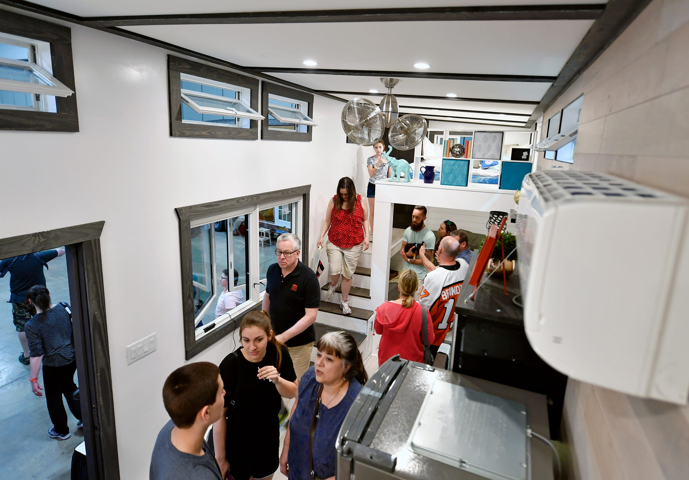 Tiny Homes, Not Allowed In York County, Draw Crowds At Expo