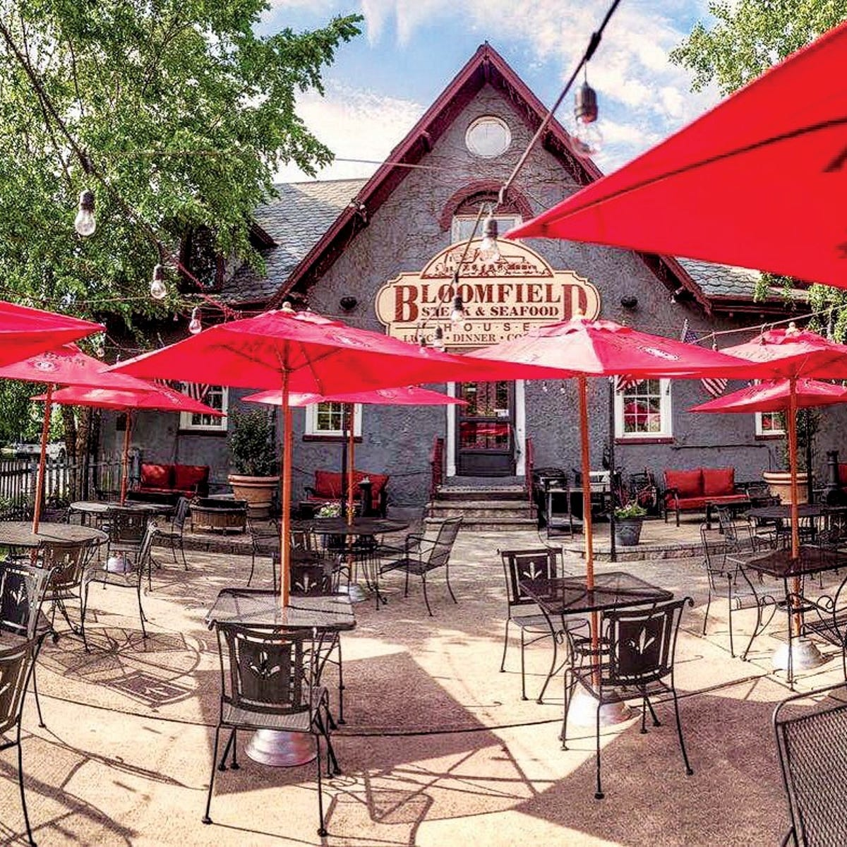 The al fresco dining scene in Montclair is heating up