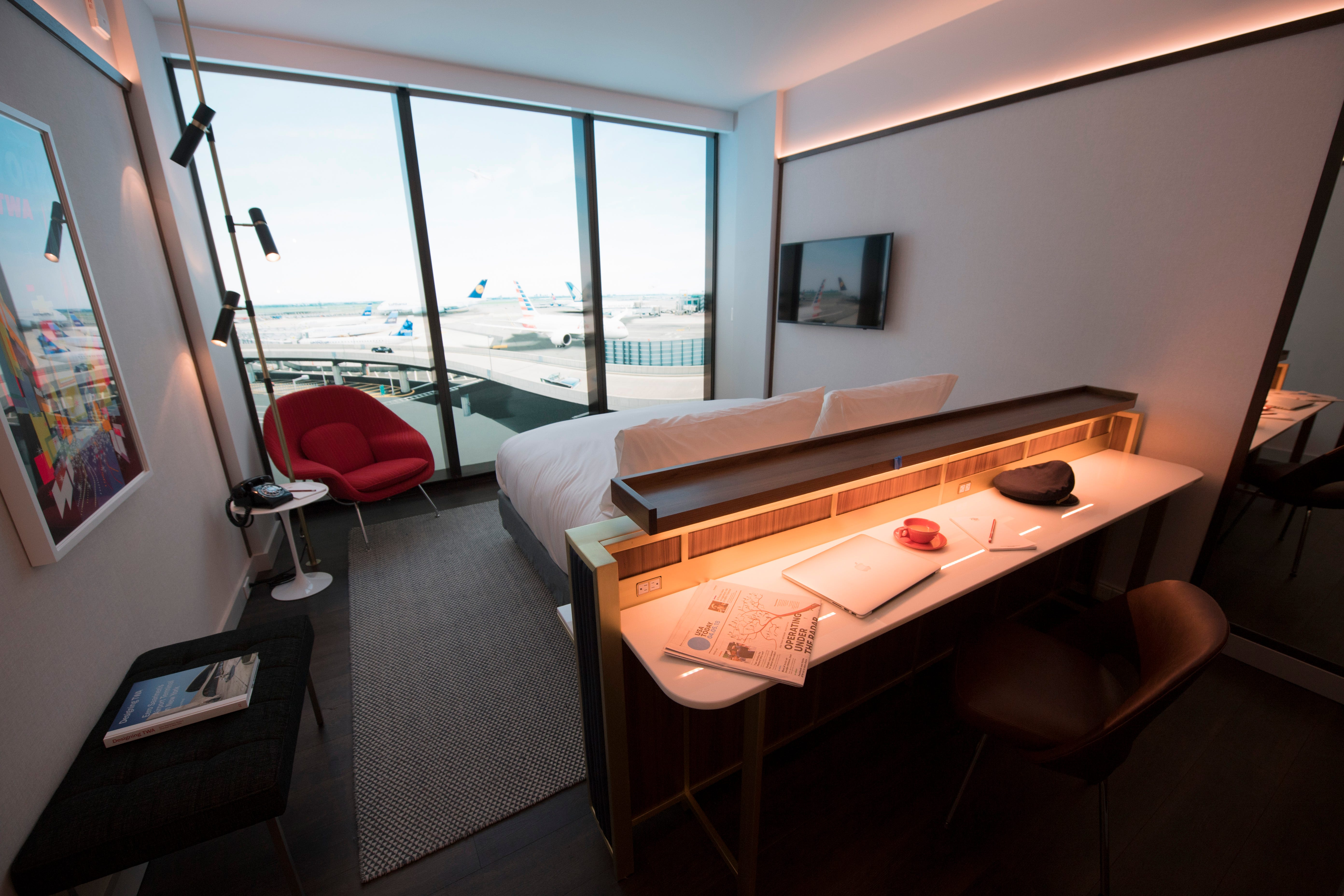 Exclusive first look: Inching closer to launch, TWA Hotel unveils room design