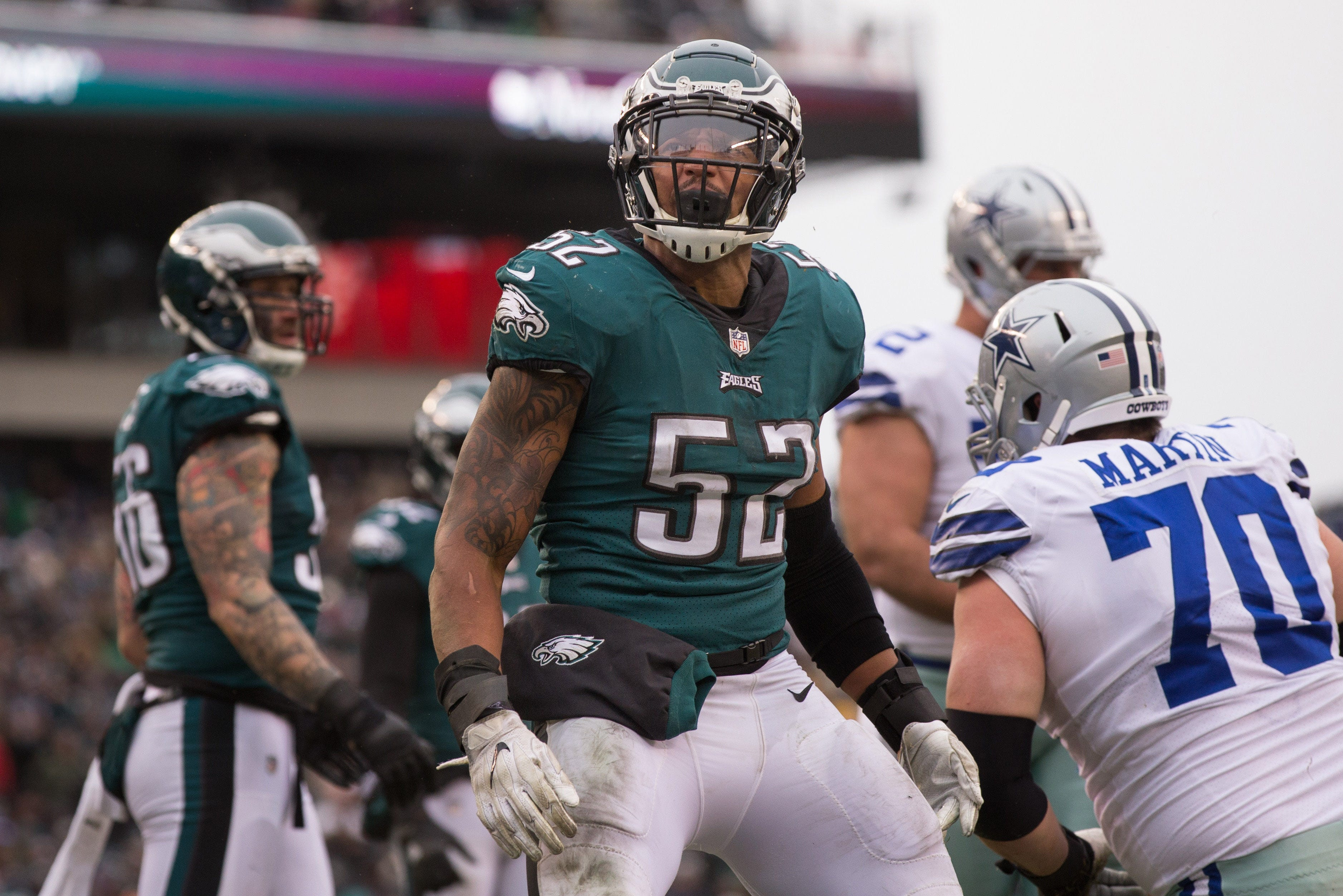 Former Eagles LB Najee Goode dishes on Colts coach Frank Reich