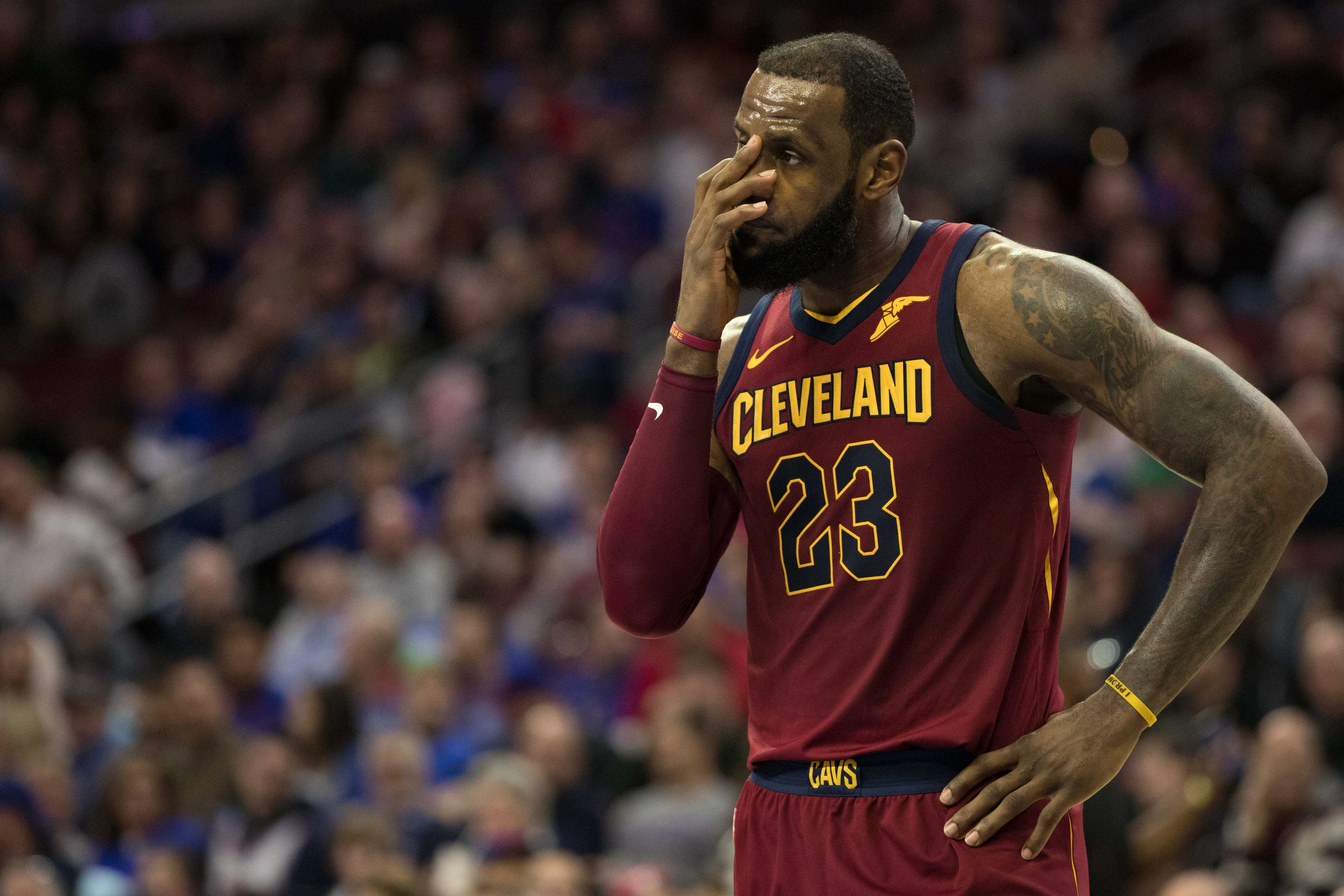 b0b7050cd5c2 LeBron James got emotional when TNT broke the news of Erin Popovich s  passing to him.
