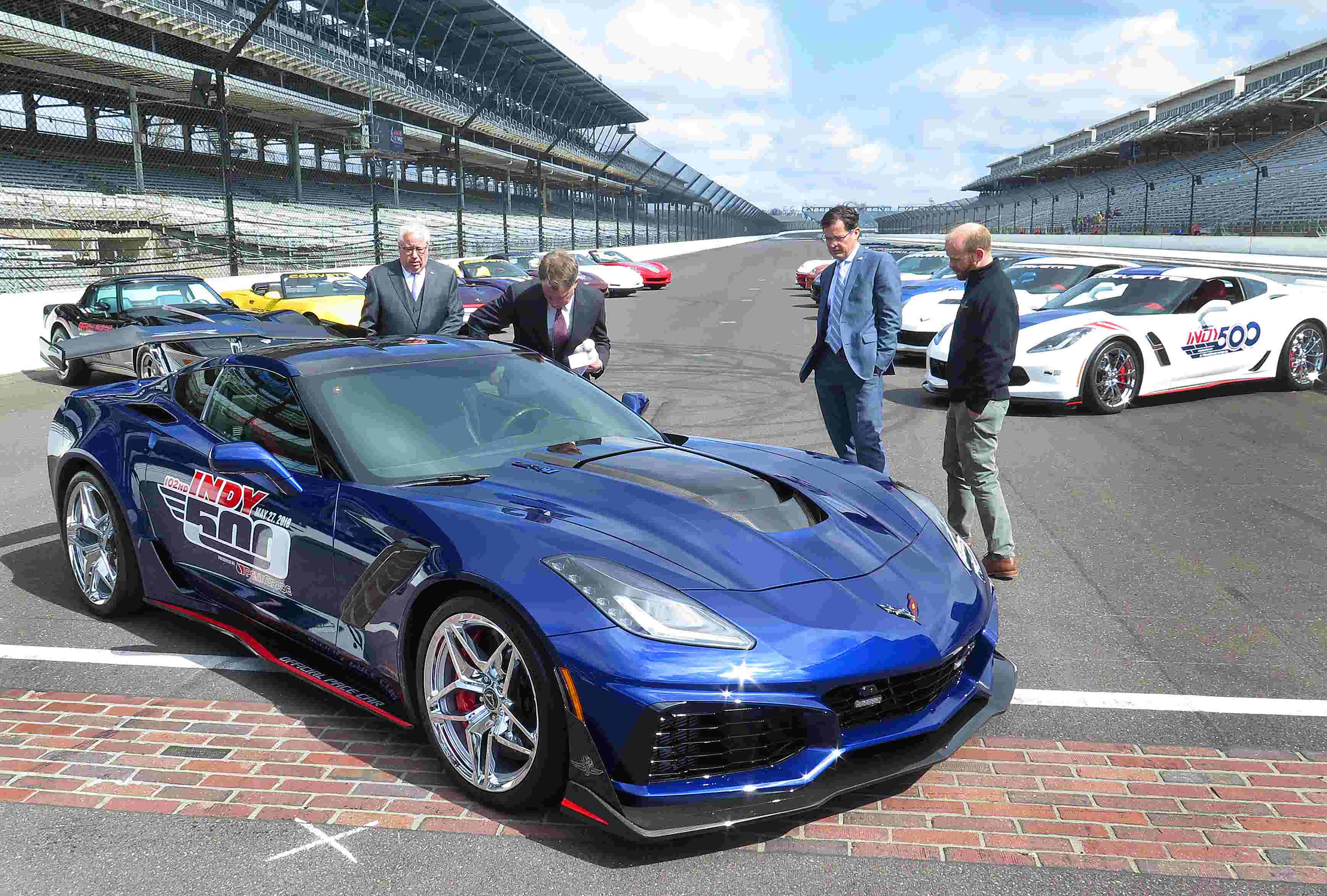 indianapolis 500 pace car drivers