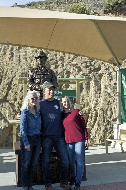 New statue to honor Granite Mountain Hotshots 5 years after Yarnell Hill Fire | Arizona Central