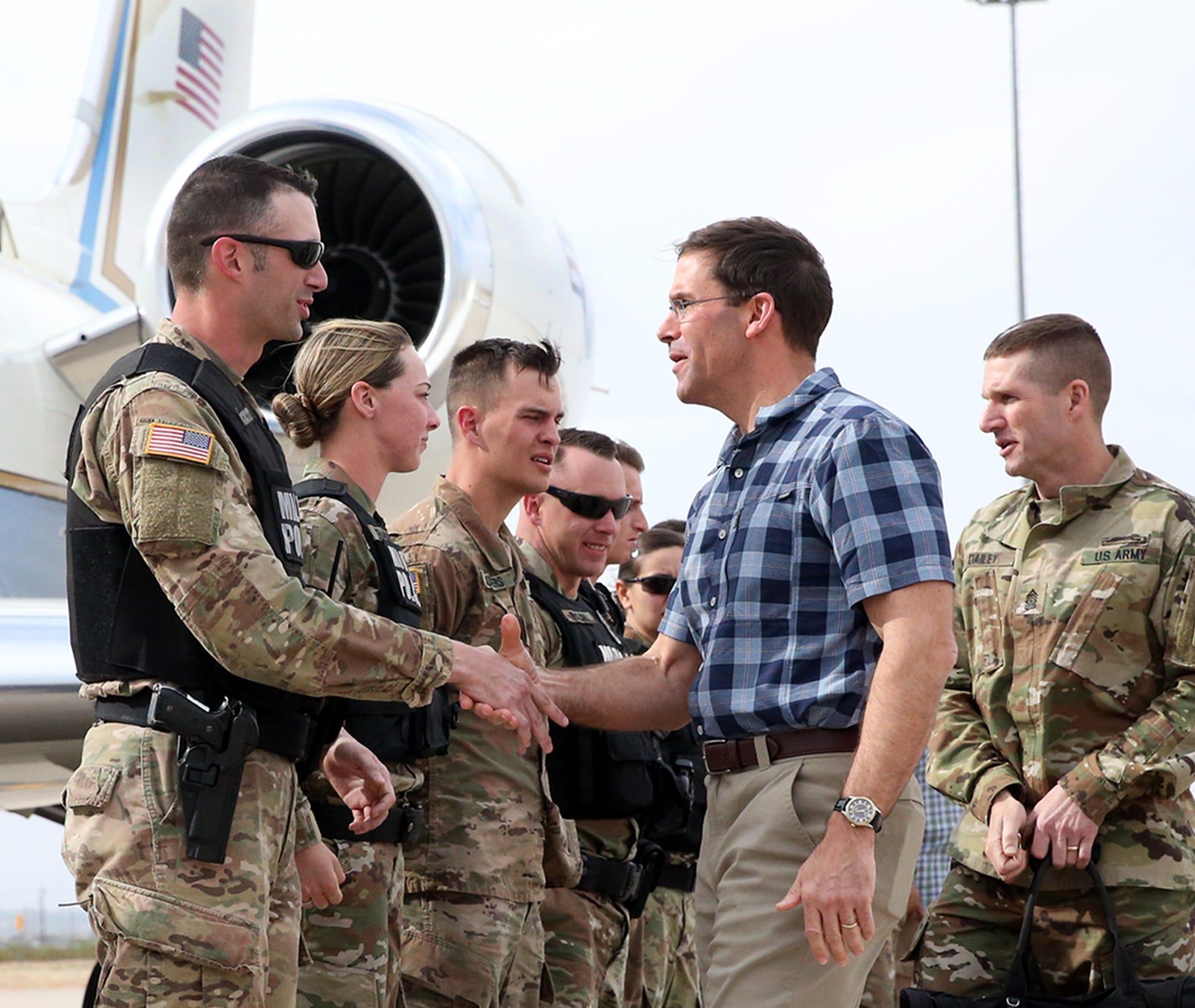 Army Secretary Mark Esper: Fort Bliss important in future warfare modernization   El Paso Times
