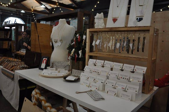 Cold Gold will be back selling her leather accessories at the May sale.
