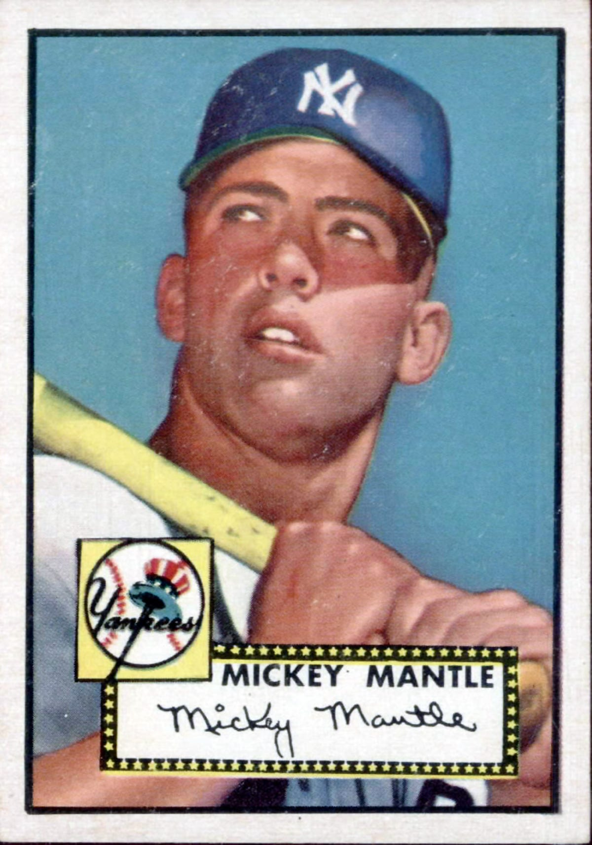 1952 Mickey Mantle Baseball Card Sells For Near Record 288