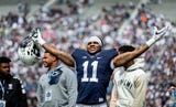 Watch how Penn State's sophomore linebacker Micah Parsons is ready to take the next steps in his star development.
